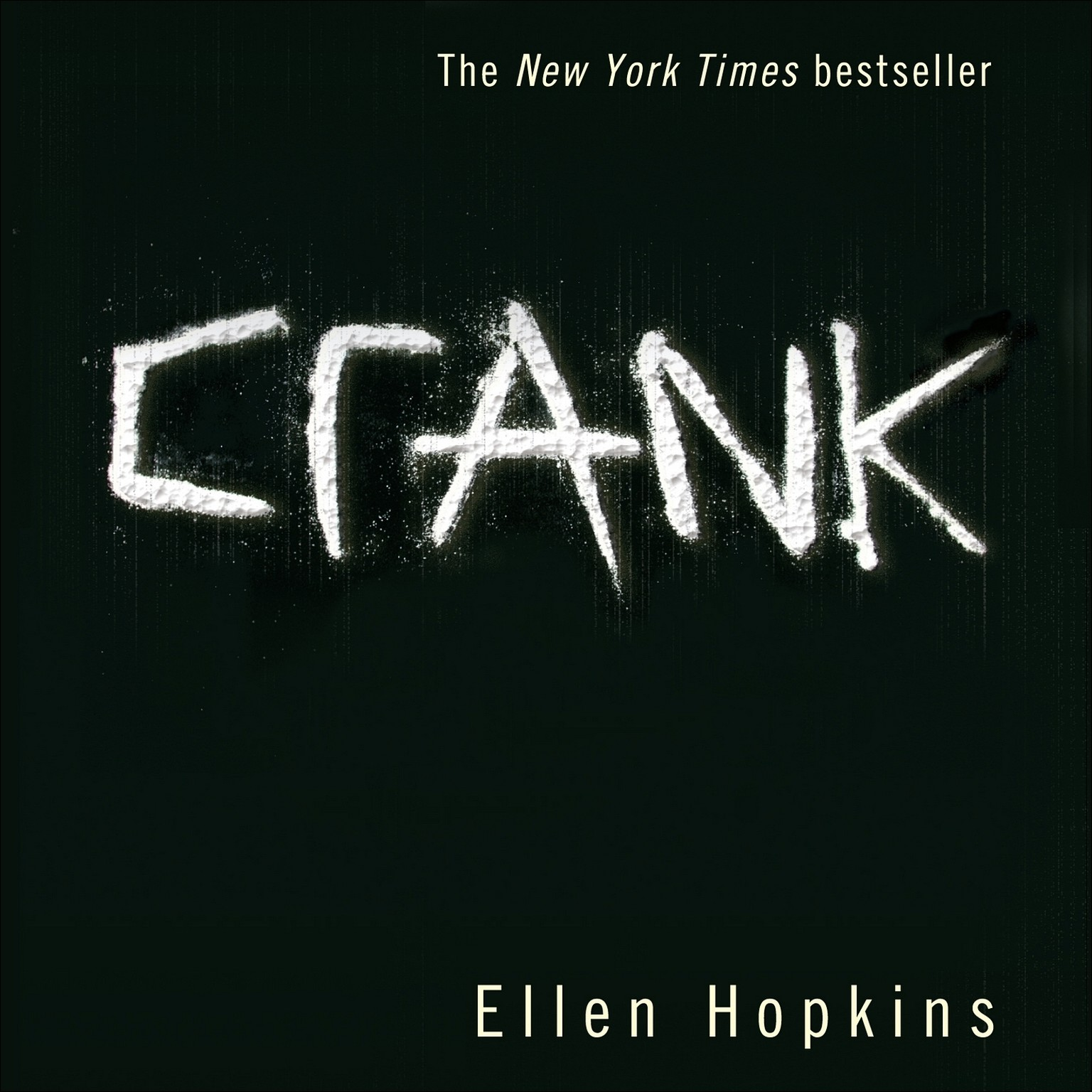 Printable Crank Audiobook Cover Art