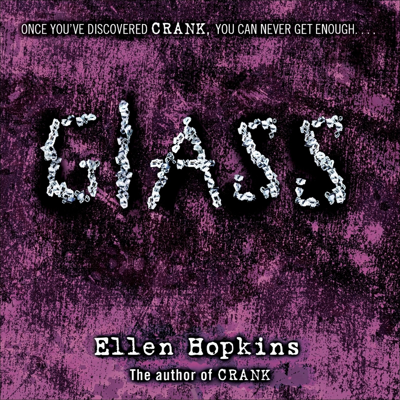 Printable Glass Audiobook Cover Art