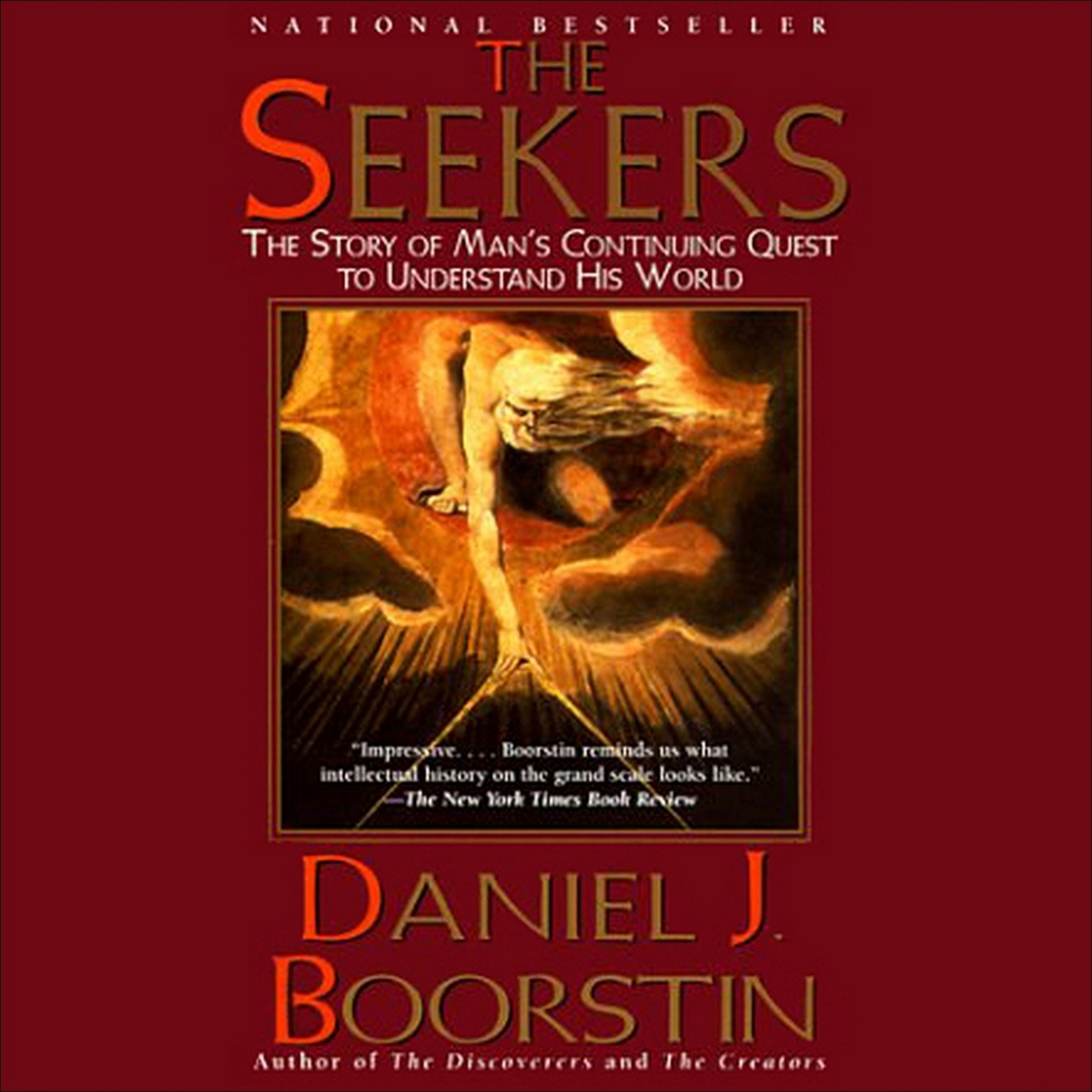 Printable The Seekers: The Story of Man's Continuing Quest to Understand His World Audiobook Cover Art
