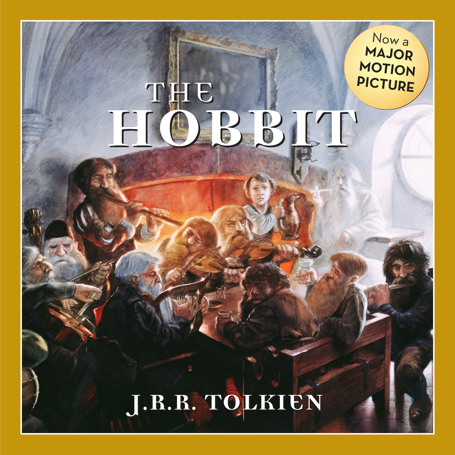 Printable The Hobbit Audiobook Cover Art