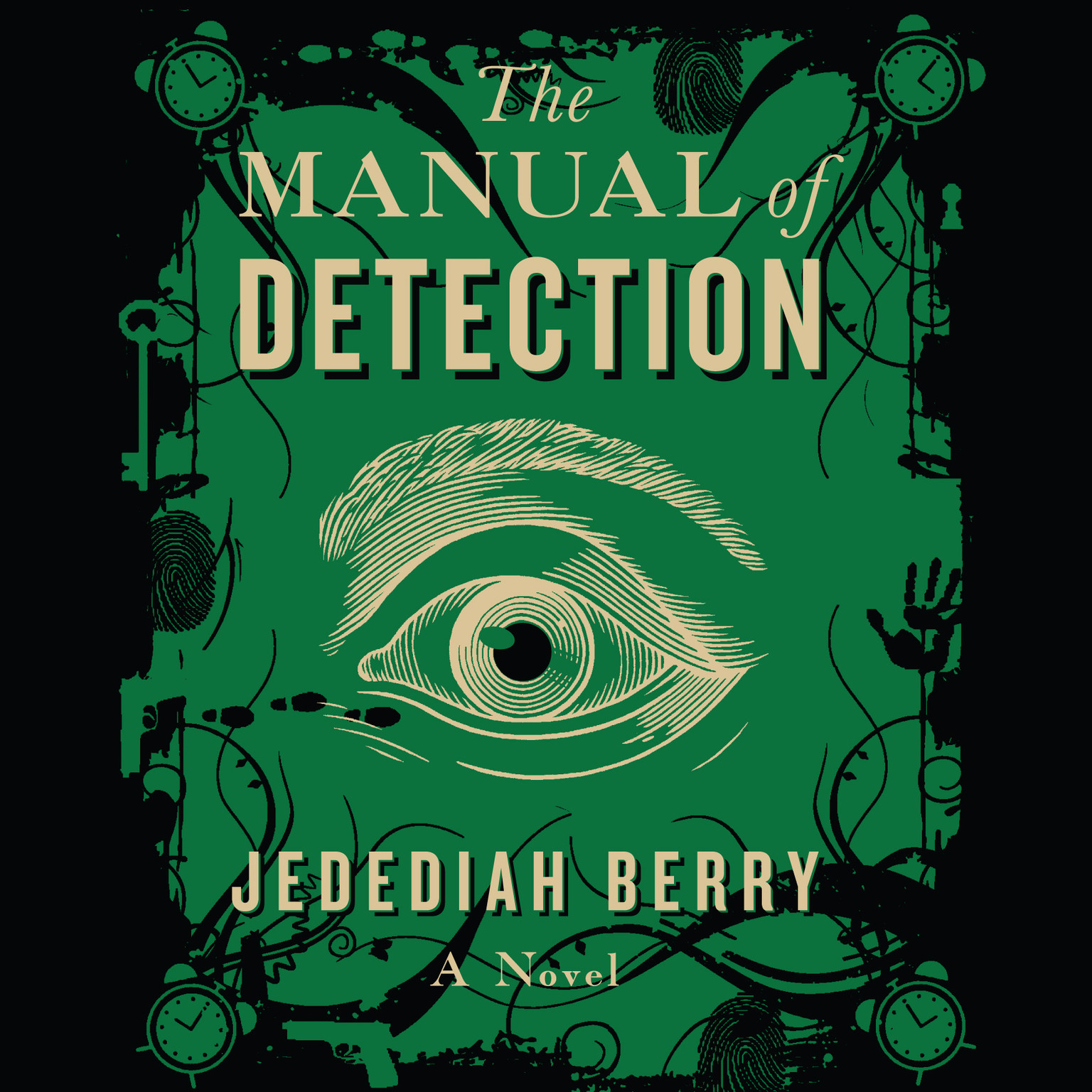 Printable The Manual of Detection Audiobook Cover Art