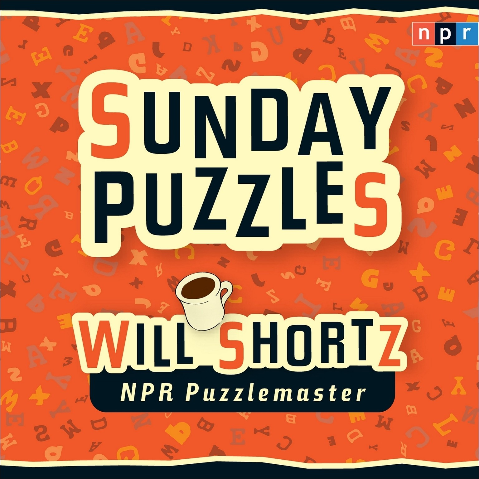 Printable NPR Sunday Puzzles Audiobook Cover Art