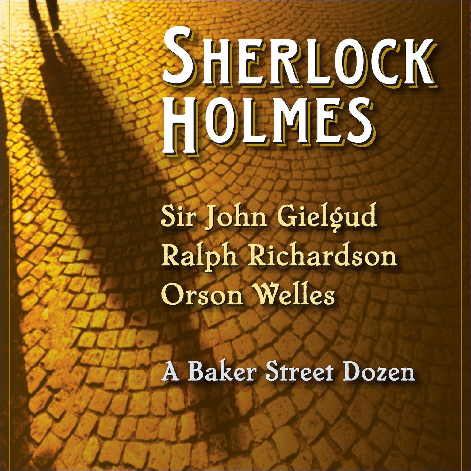 Printable A Baker Street Dozen Audiobook Cover Art
