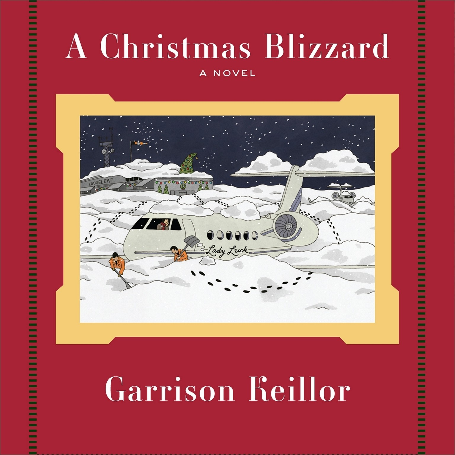 Printable A Christmas Blizzard Audiobook Cover Art