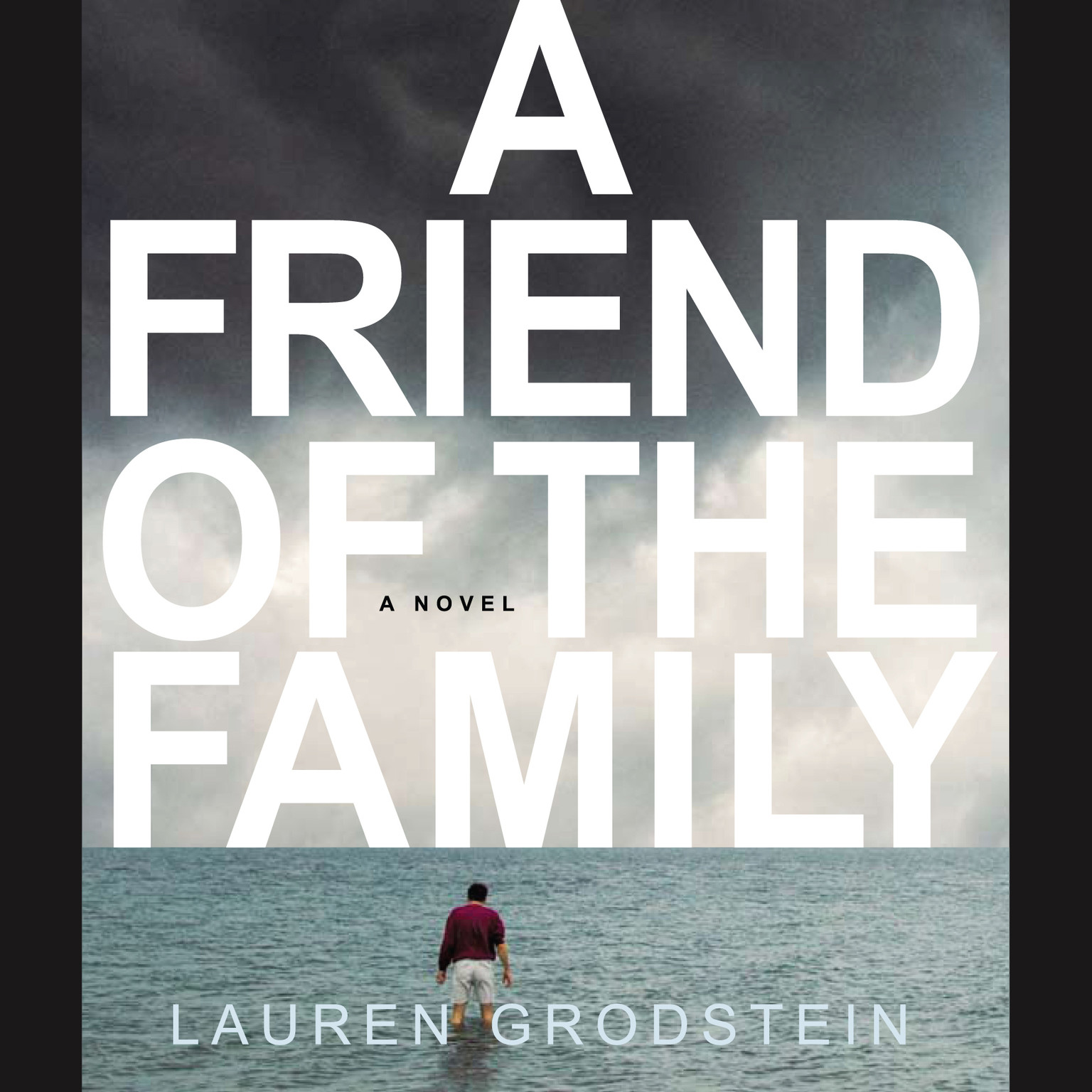 Printable A Friend of the Family Audiobook Cover Art