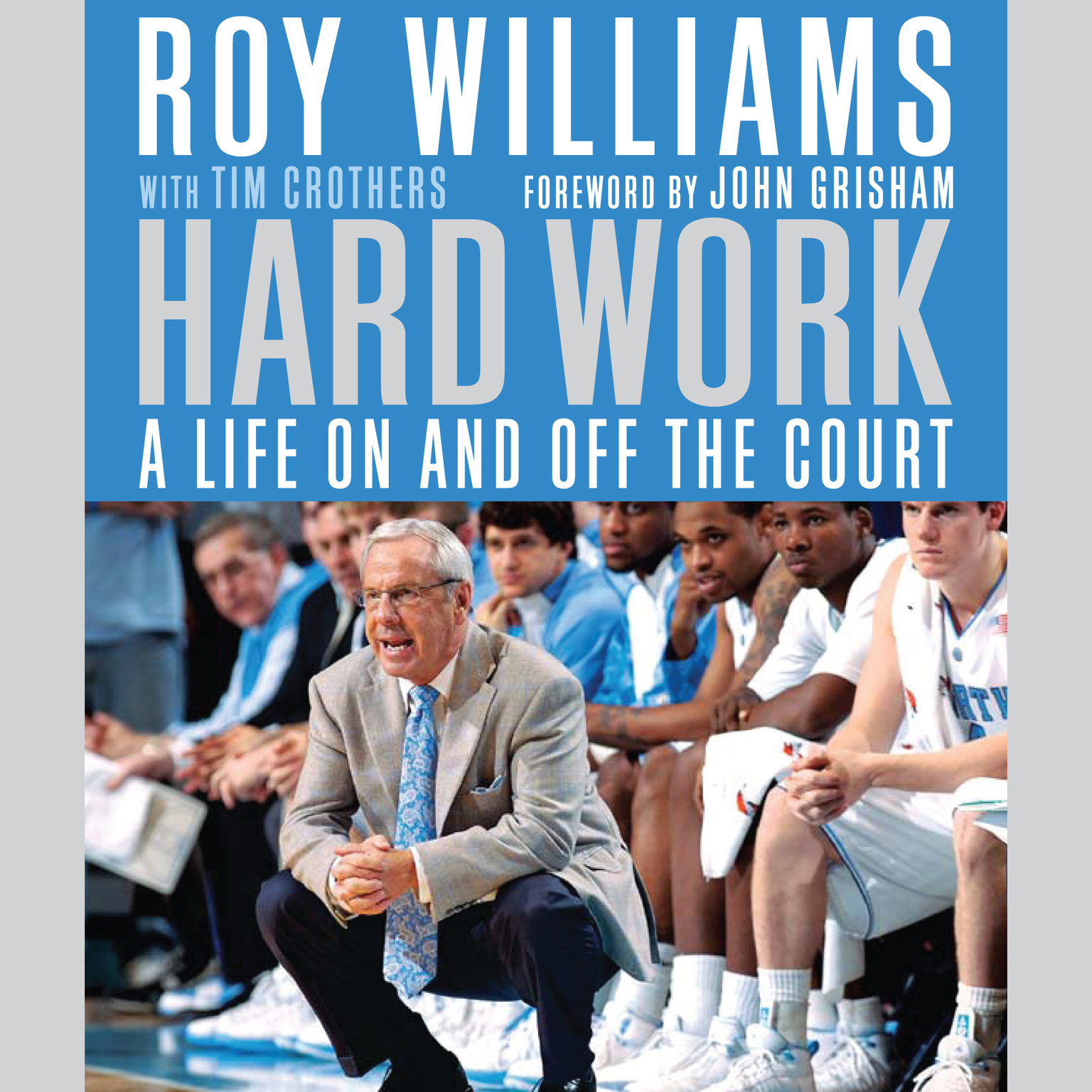 Printable Hard Work: My Life On and Off the Court Audiobook Cover Art