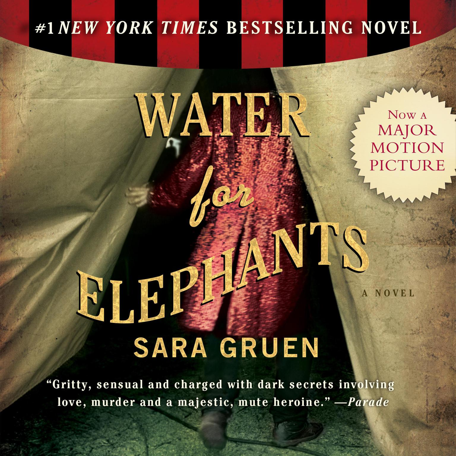 Printable Water for Elephants Audiobook Cover Art