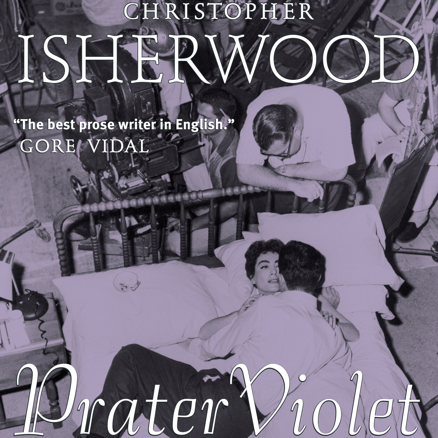 Printable Prater Violet Audiobook Cover Art