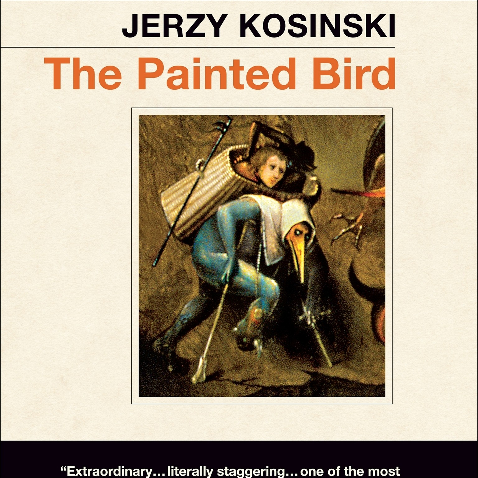 Printable The Painted Bird Audiobook Cover Art