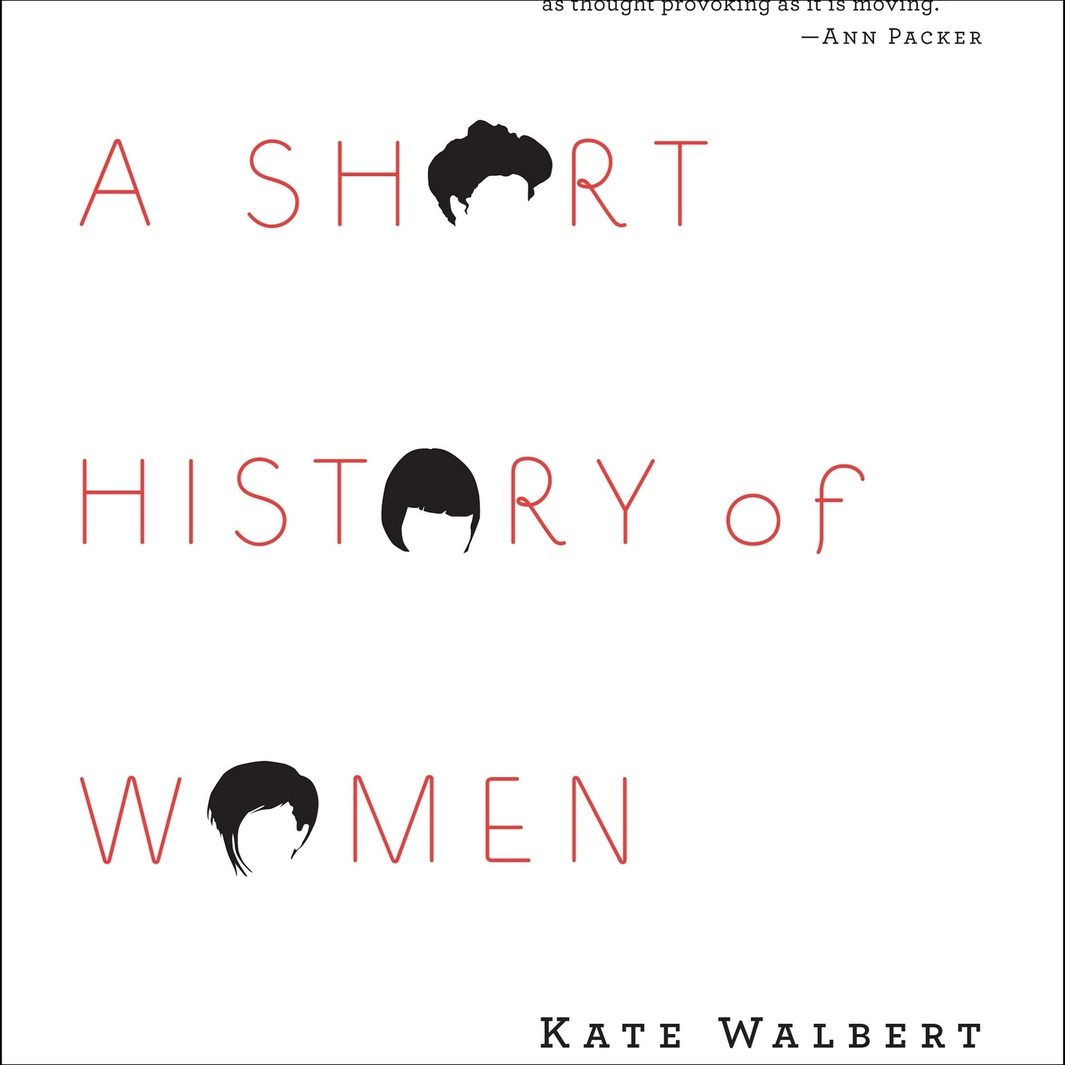 Printable A Short History of Women Audiobook Cover Art