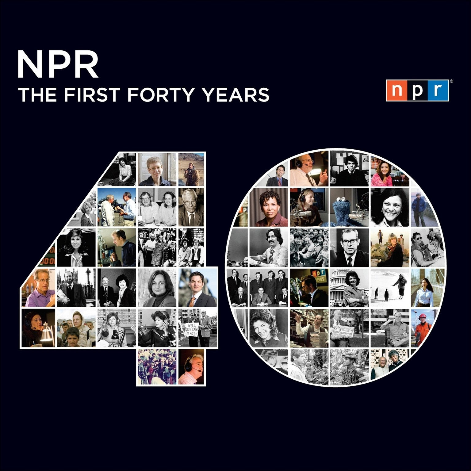 Printable NPR: The First Forty Years Audiobook Cover Art