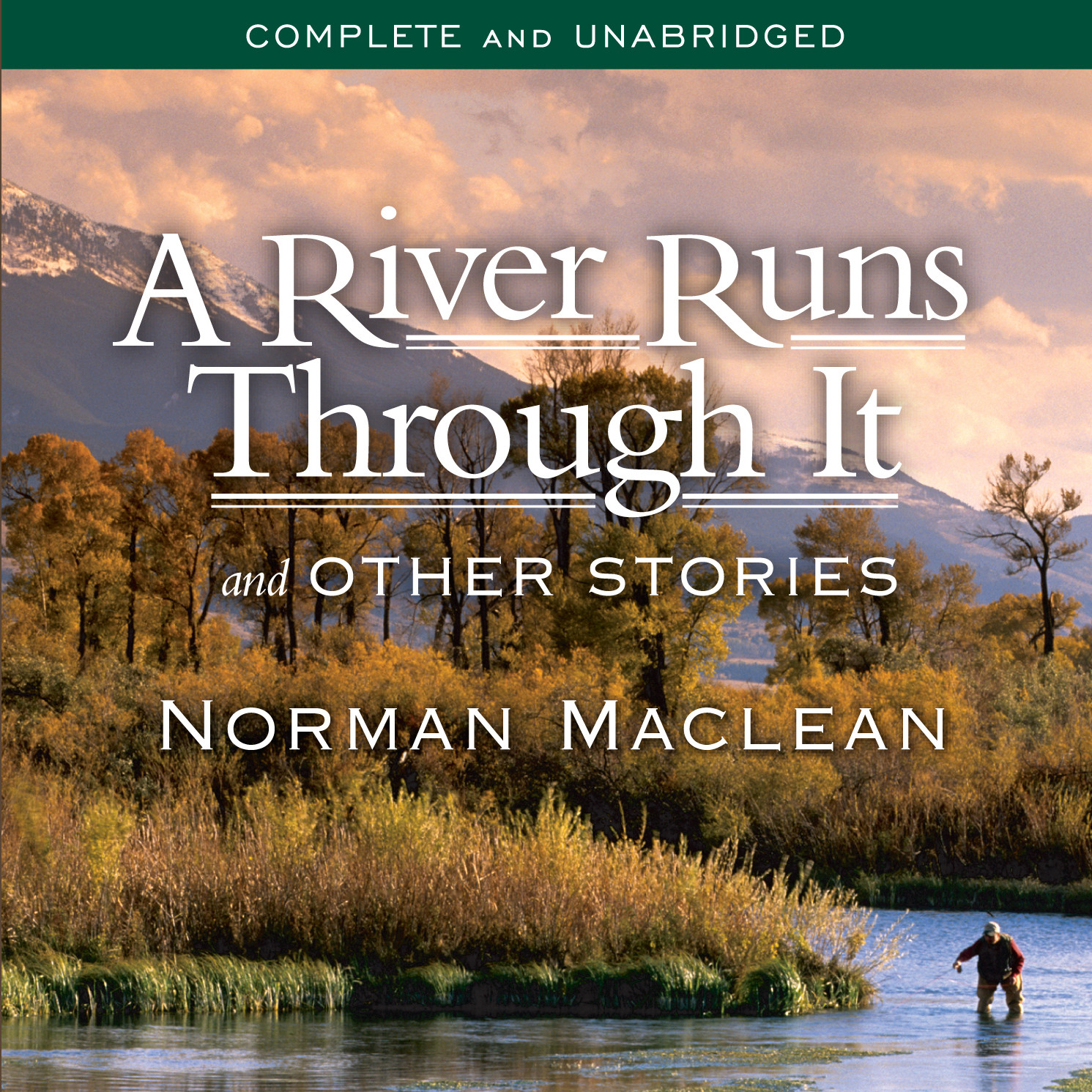 Printable A River Runs Through It and Other Stories Audiobook Cover Art
