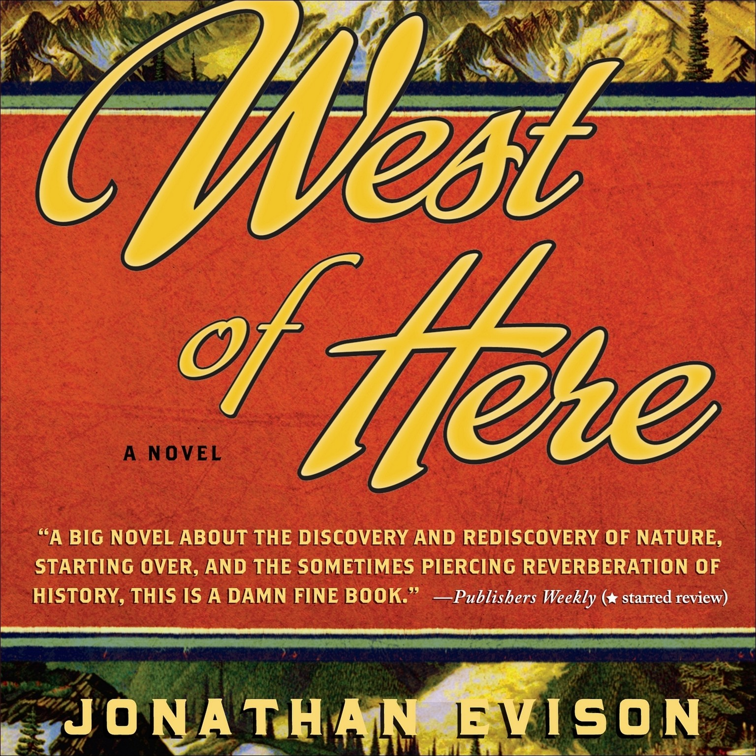 Printable West of Here Audiobook Cover Art