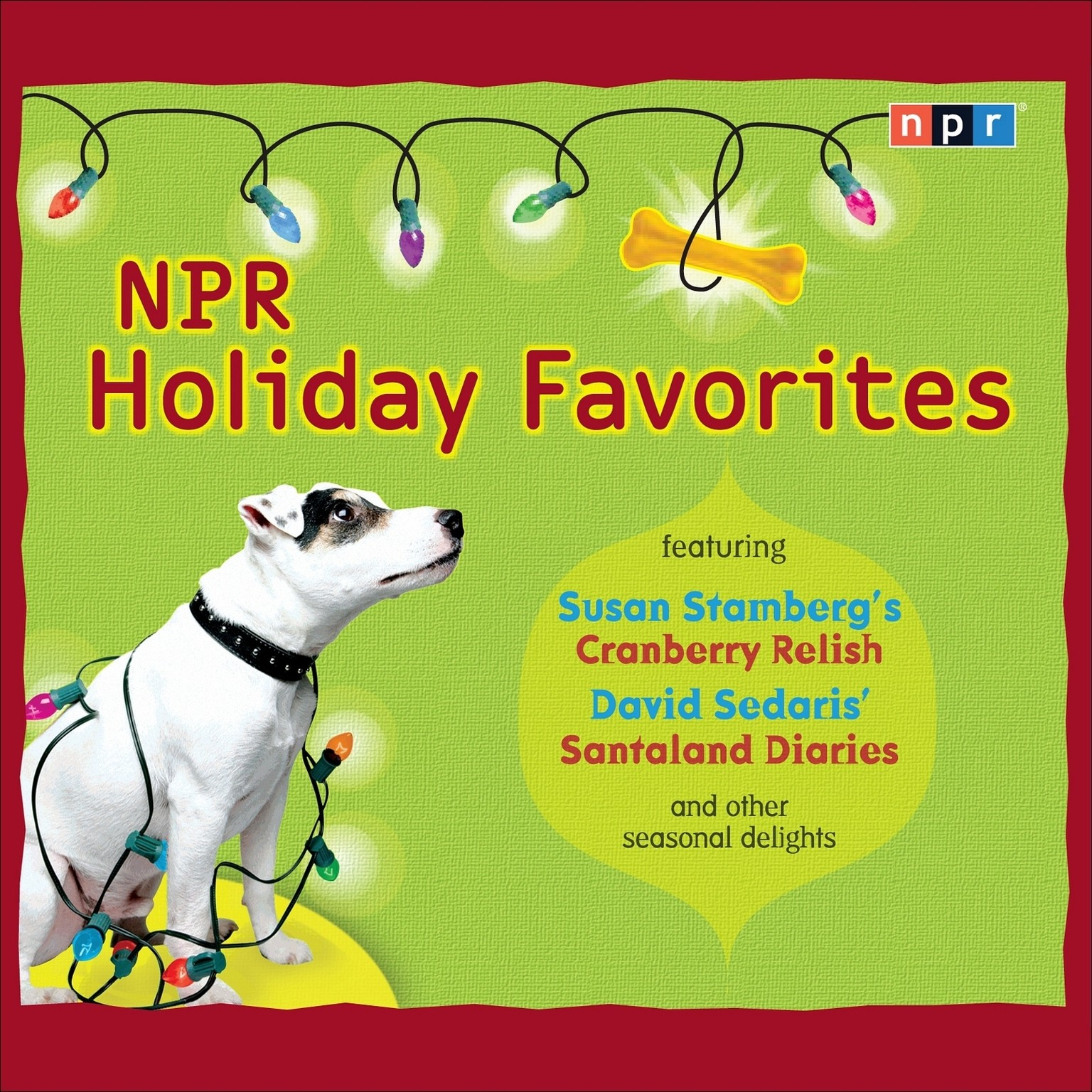 Printable NPR Holiday Favorites Audiobook Cover Art