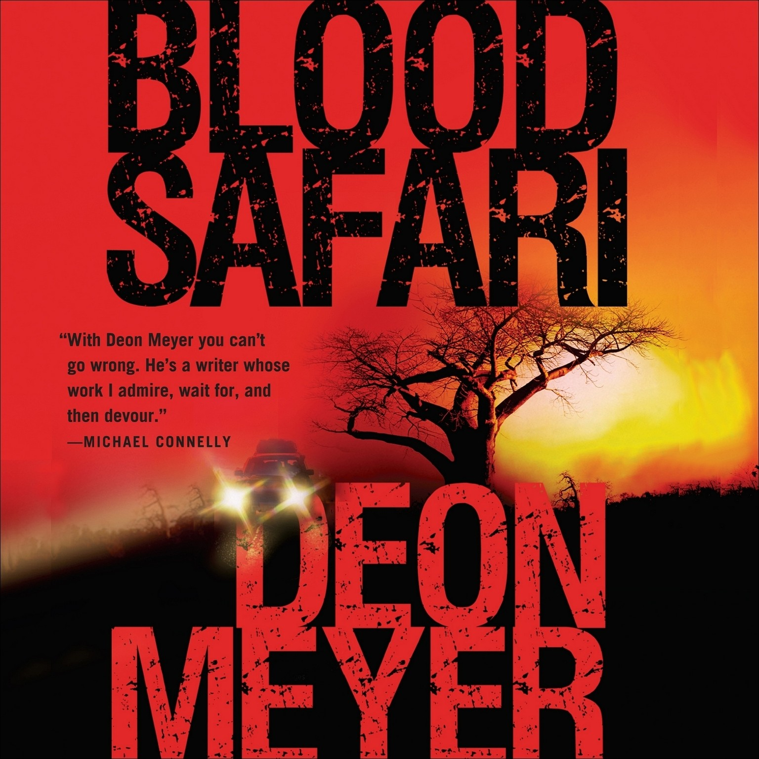 Printable Blood Safari Audiobook Cover Art