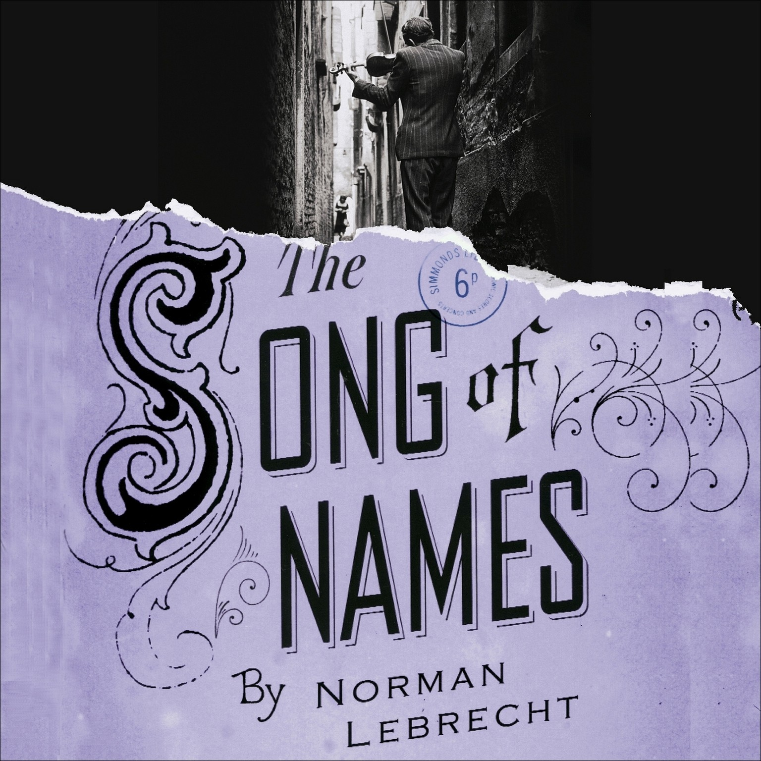 Printable The Song of Names Audiobook Cover Art