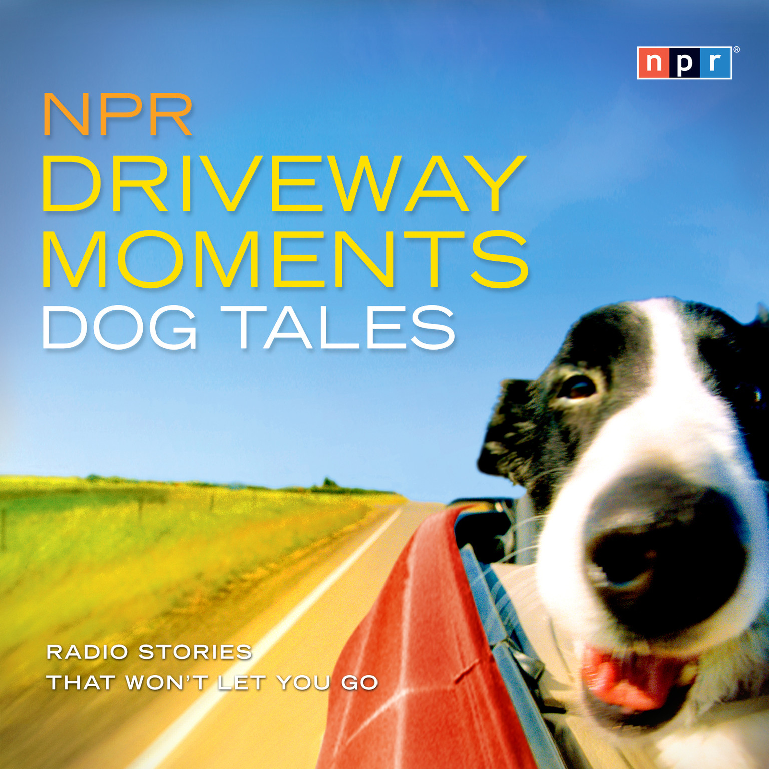 Printable NPR Driveway Moments: Dog Tales: Radio Stories That Won't Let You Go Audiobook Cover Art