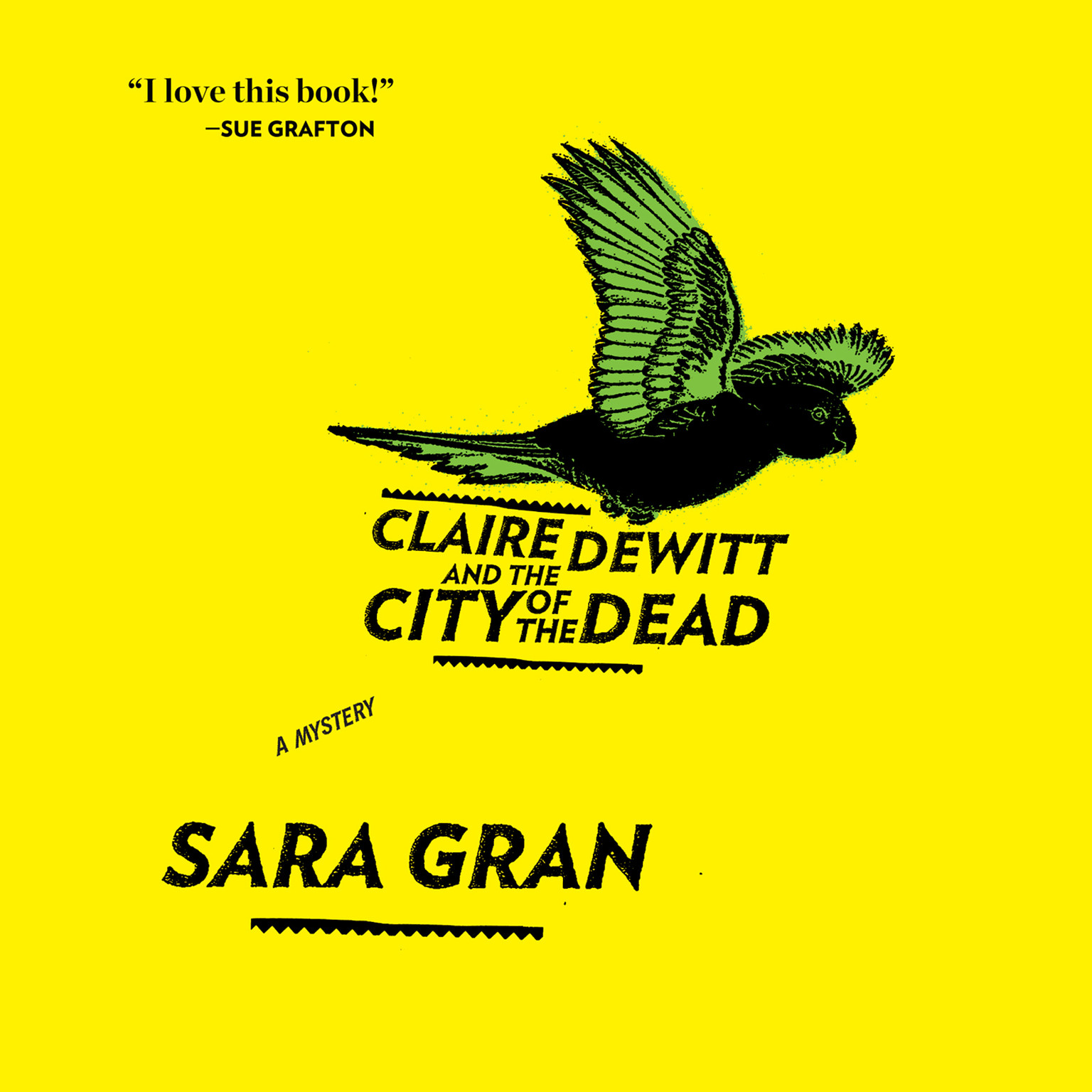 Printable Claire DeWitt and the City of the Dead Audiobook Cover Art