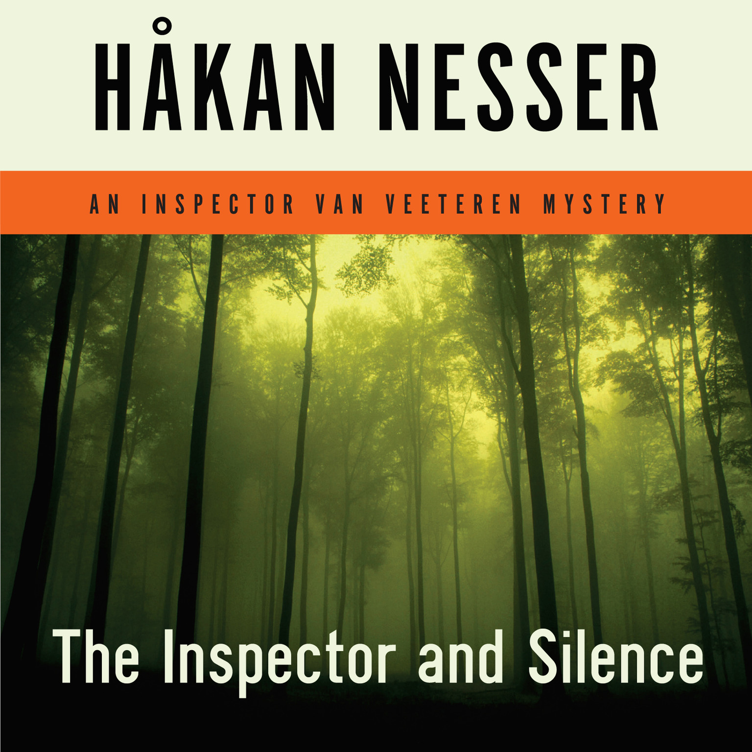 Printable The Inspector and Silence Audiobook Cover Art