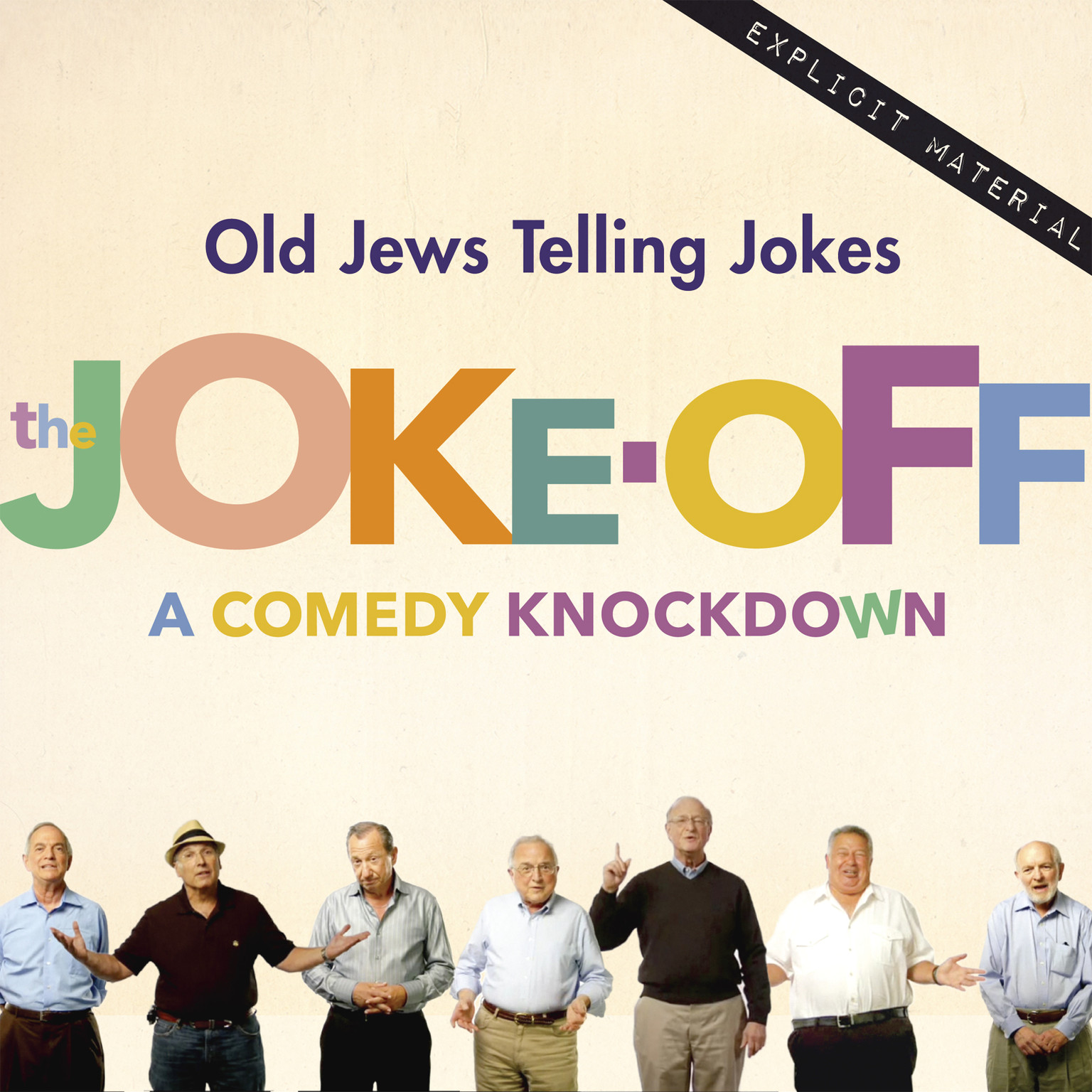 Printable The Joke-Off: A Comedy Knockdown Audiobook Cover Art