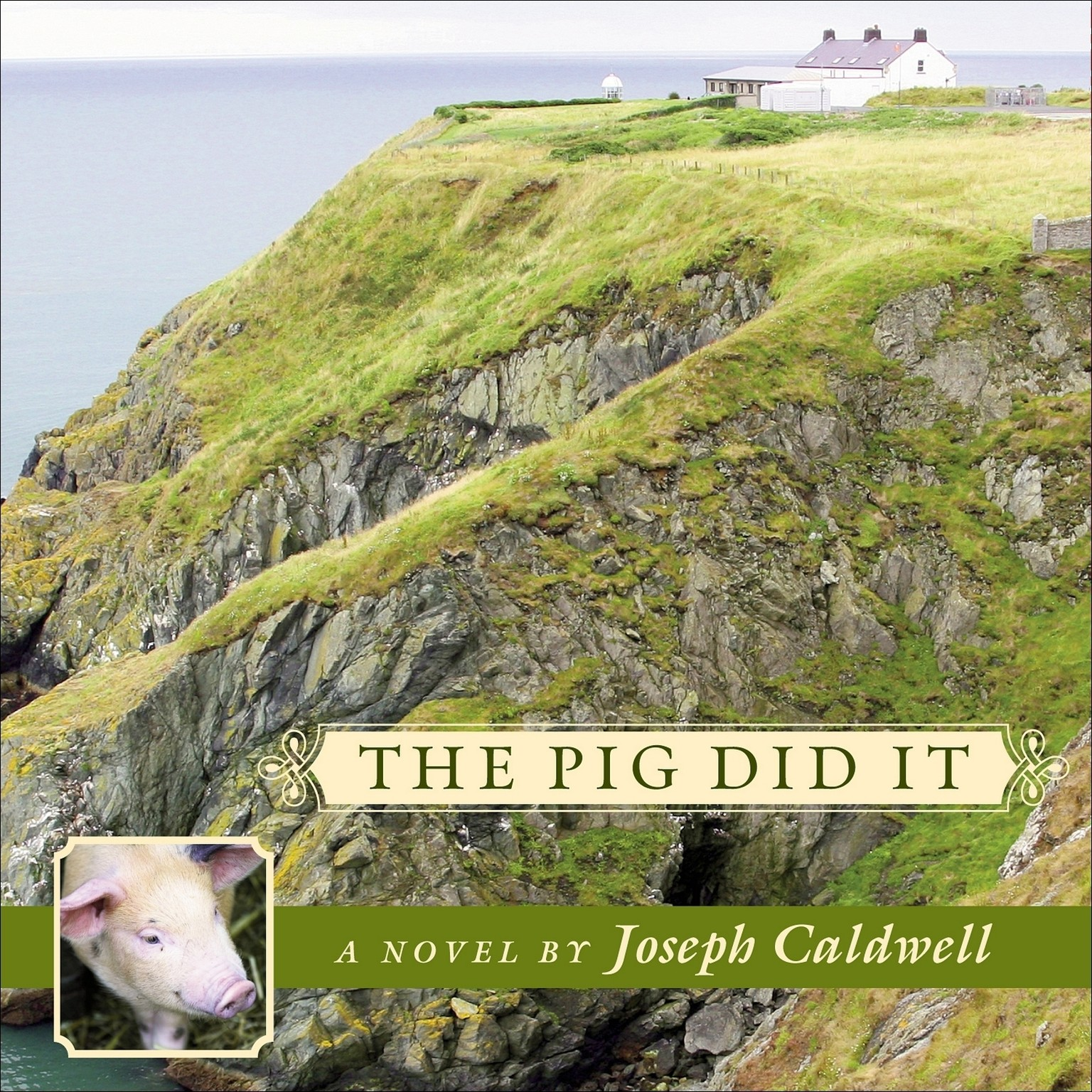Printable The Pig Did It Audiobook Cover Art
