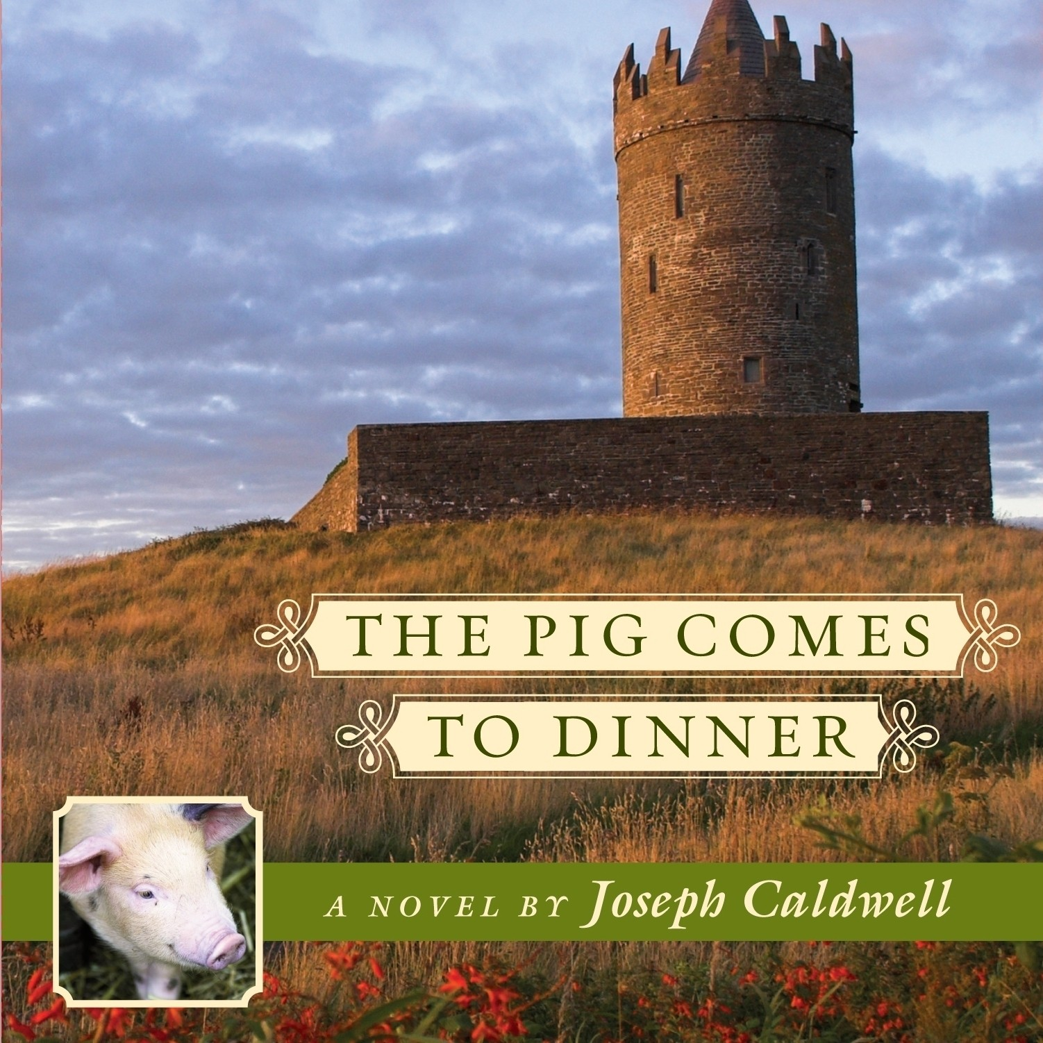 Printable The Pig Comes to Dinner Audiobook Cover Art