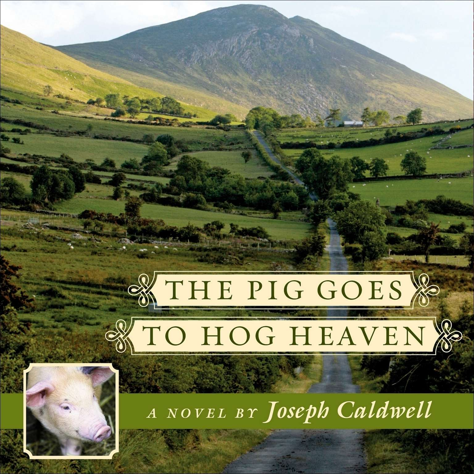 Printable The Pig Goes to Hog Heaven Audiobook Cover Art