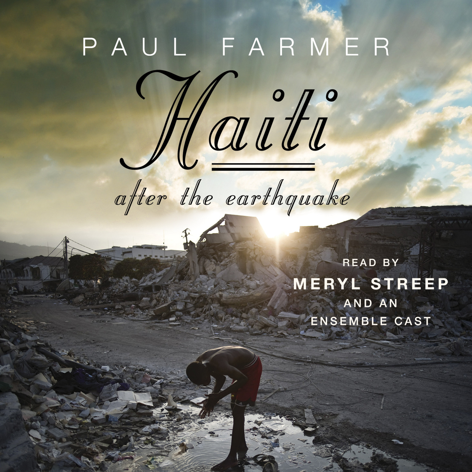 Printable Haiti After the Earthquake Audiobook Cover Art