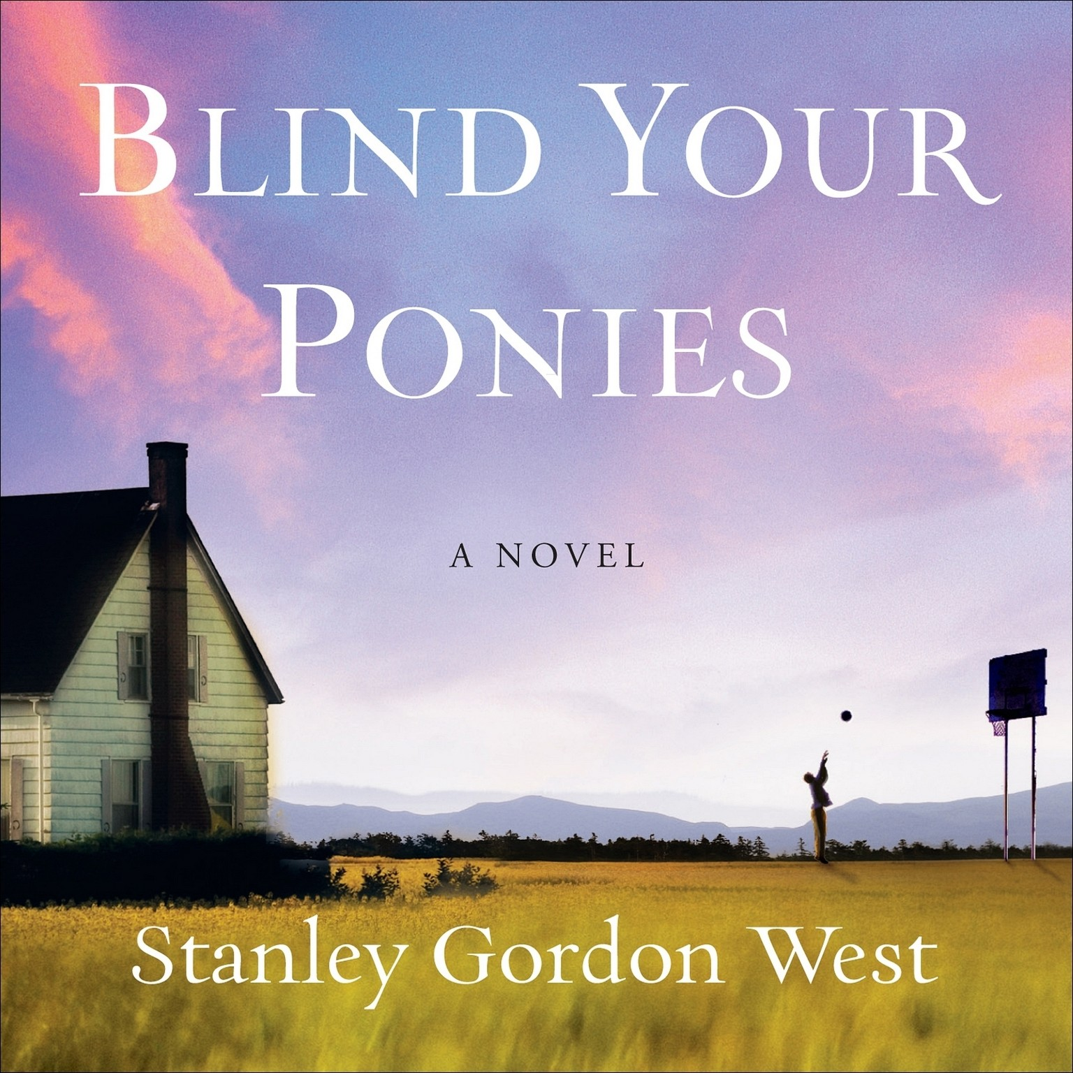 Printable Blind Your Ponies Audiobook Cover Art