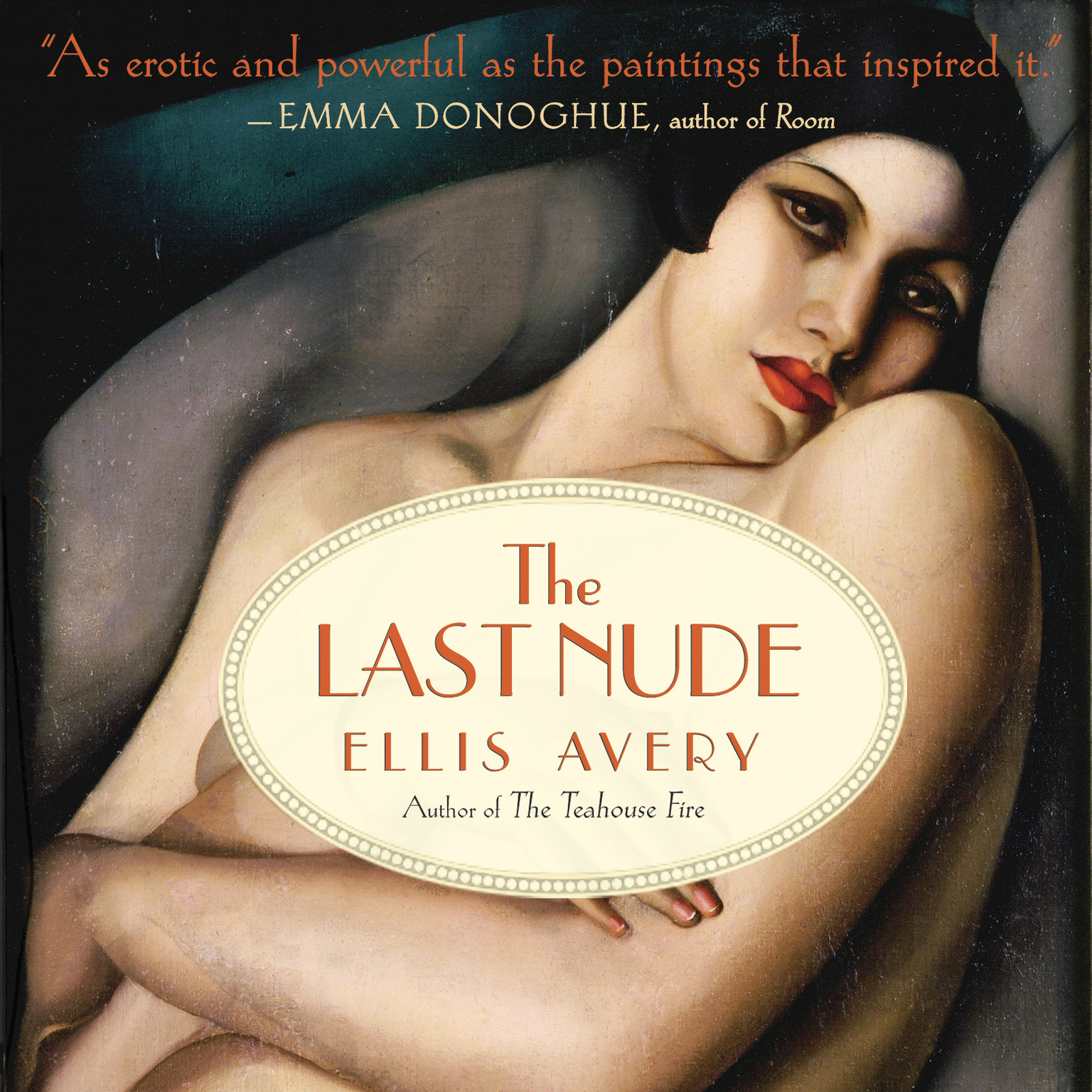 Printable The Last Nude Audiobook Cover Art