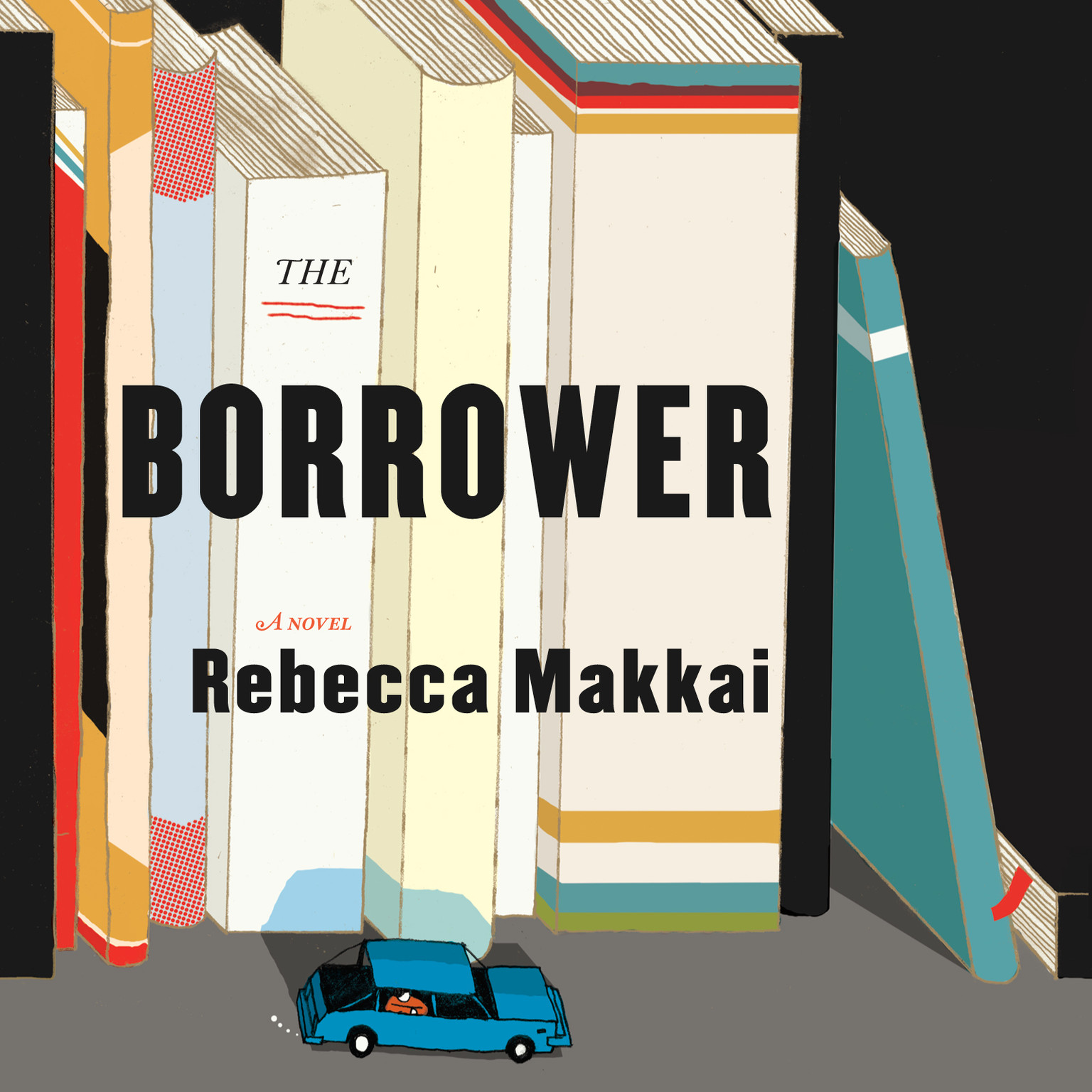 Printable The Borrower Audiobook Cover Art