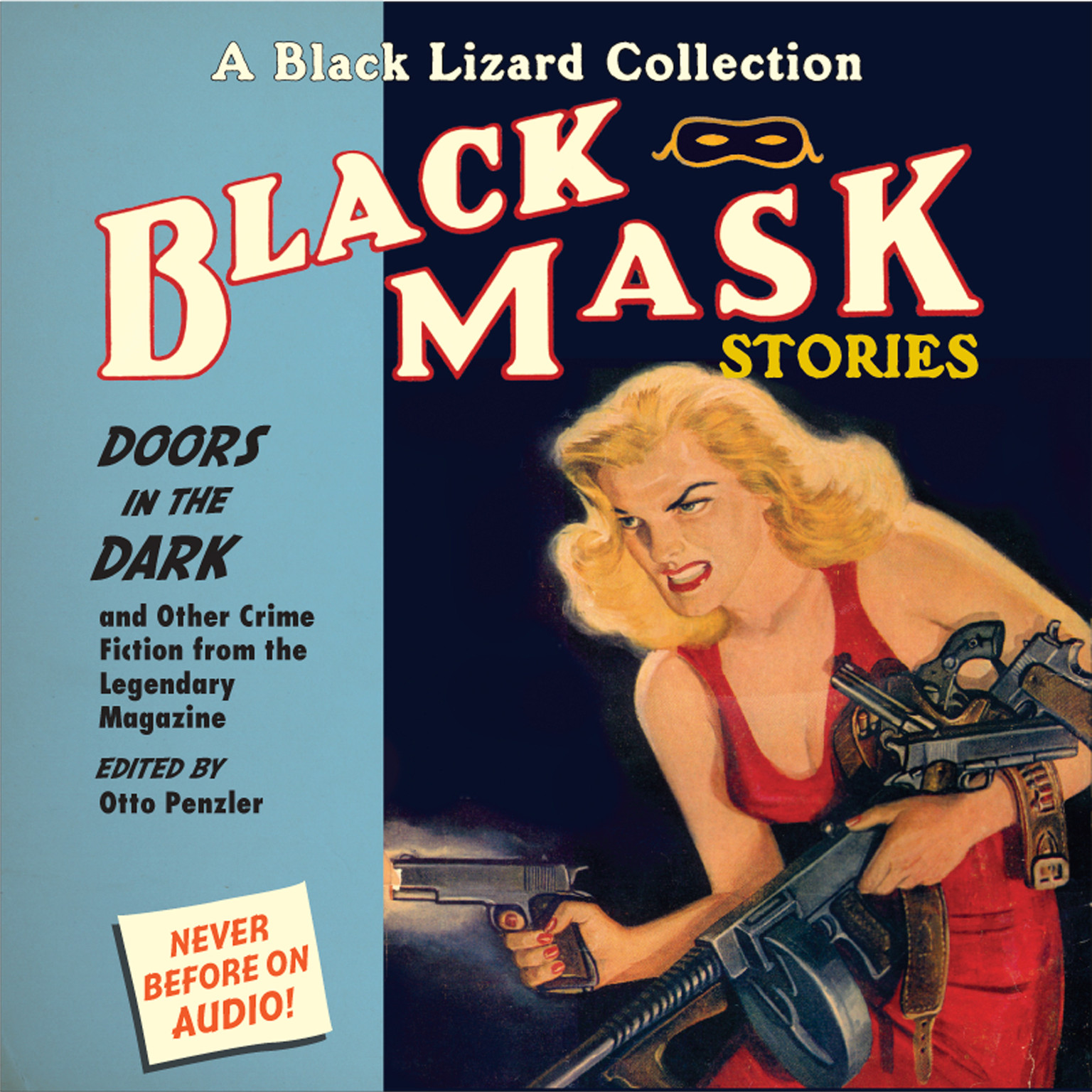 Printable Black Mask 1: Doors in the Dark: And Other Crime Fiction from the Legendary Magazine Audiobook Cover Art