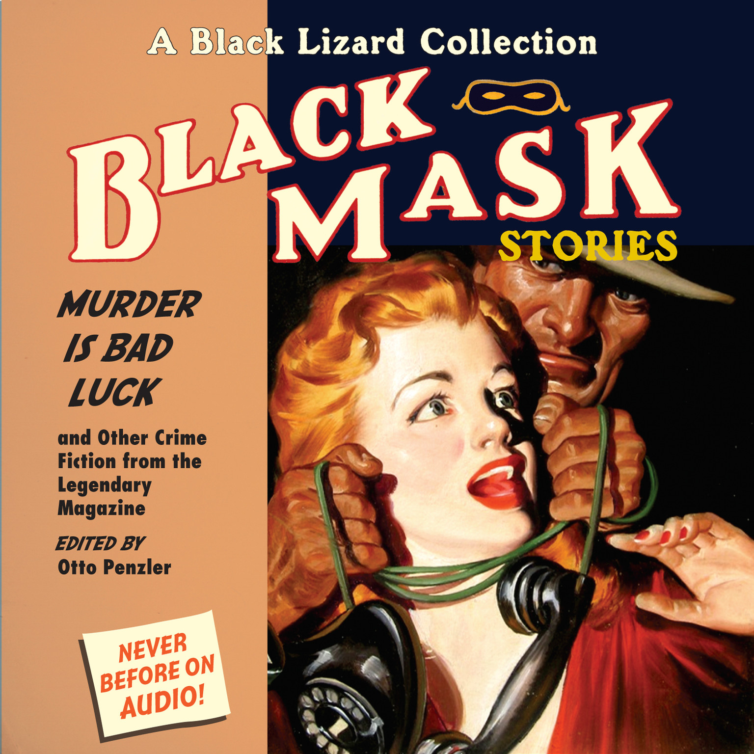 Printable Black Mask 2: Murder IS Bad Luck: And Other Crime Fiction from the Legendary Magazine Audiobook Cover Art