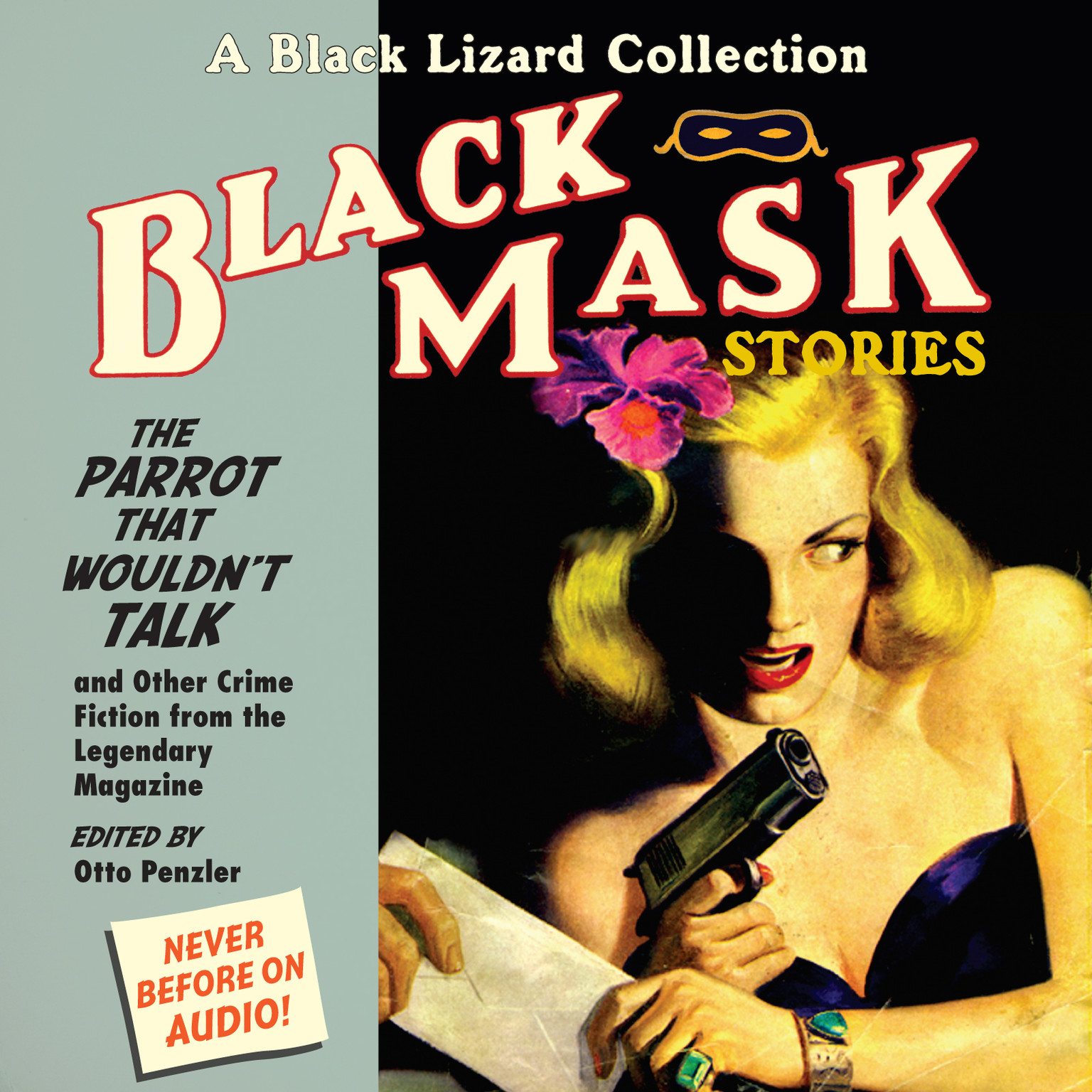 Printable Black Mask 4: The Parrot That Wouldn't Talk: And Other Crime Fiction from the Legendary Magazine Audiobook Cover Art