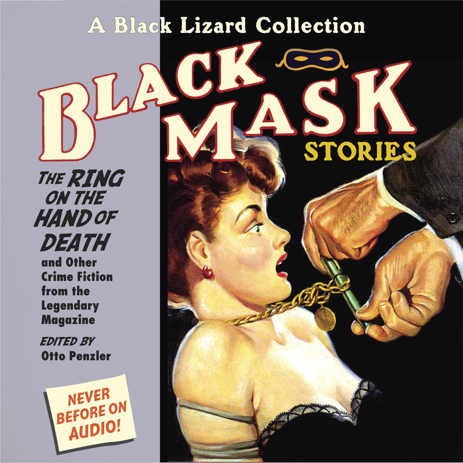 Printable Black Mask 5: The Ring on the Hand of Death: And Other Crime Fiction from the Legendary Magazine Audiobook Cover Art