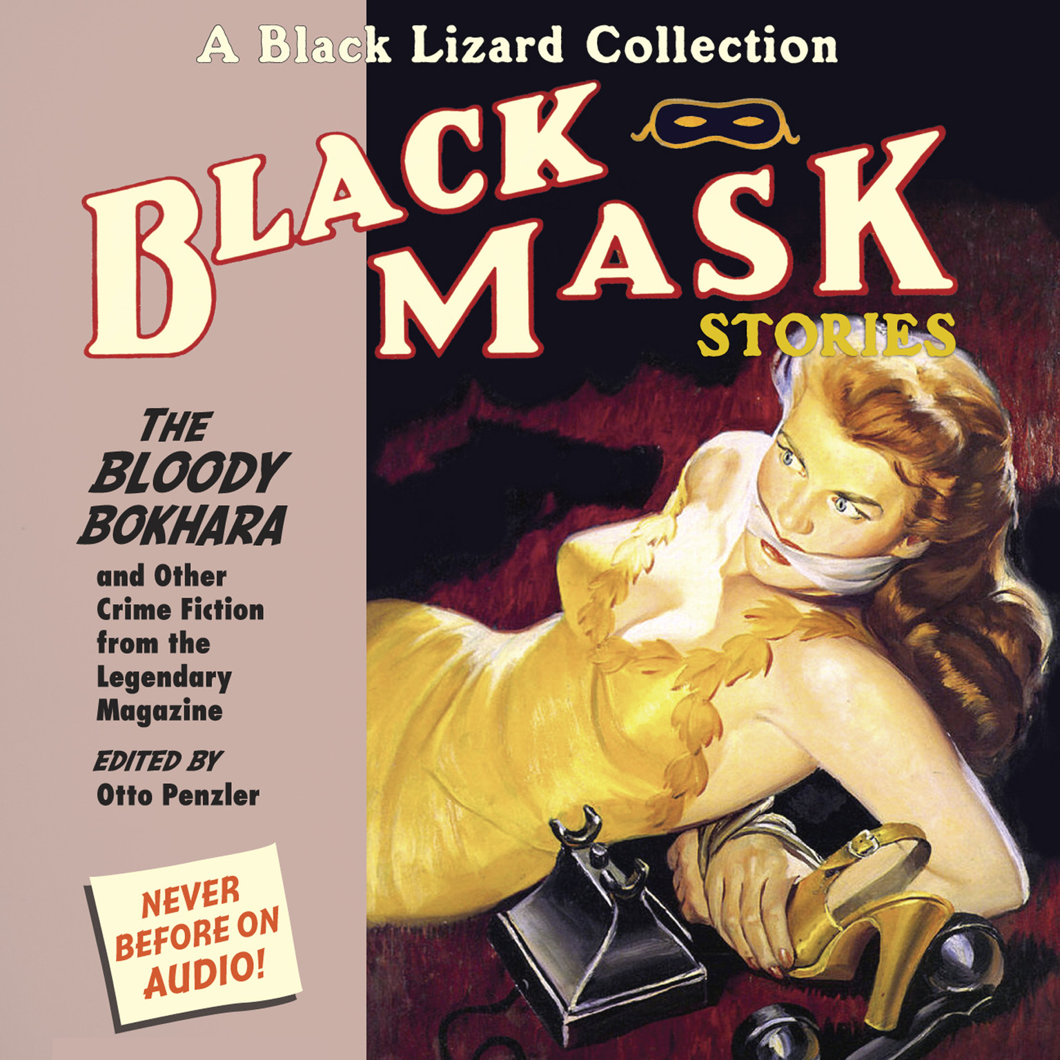 Printable Black Mask 6: The Bloody Bokhara: And Other Crime Fiction from the Legendary Magazine Audiobook Cover Art