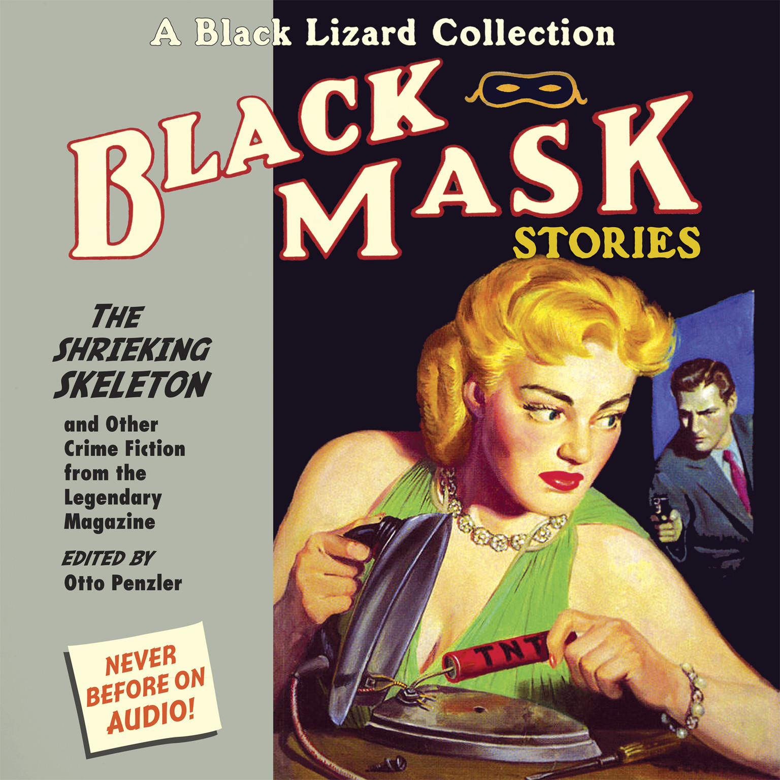 Printable Black Mask 7: The Shrieking Skeleton: And Other Crime Fiction from the Legendary Magazine Audiobook Cover Art