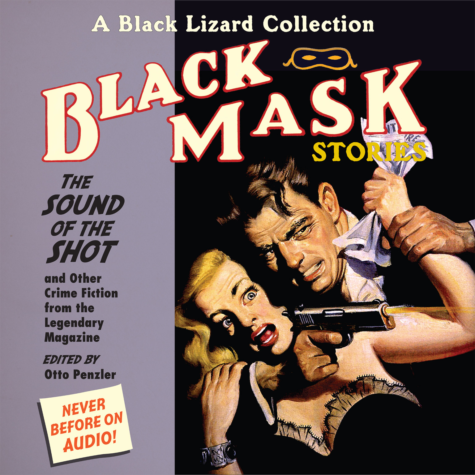 Printable Black Mask 8: The Sound of the Shot: And Other Crime Fiction from the Legendary Magazine Audiobook Cover Art