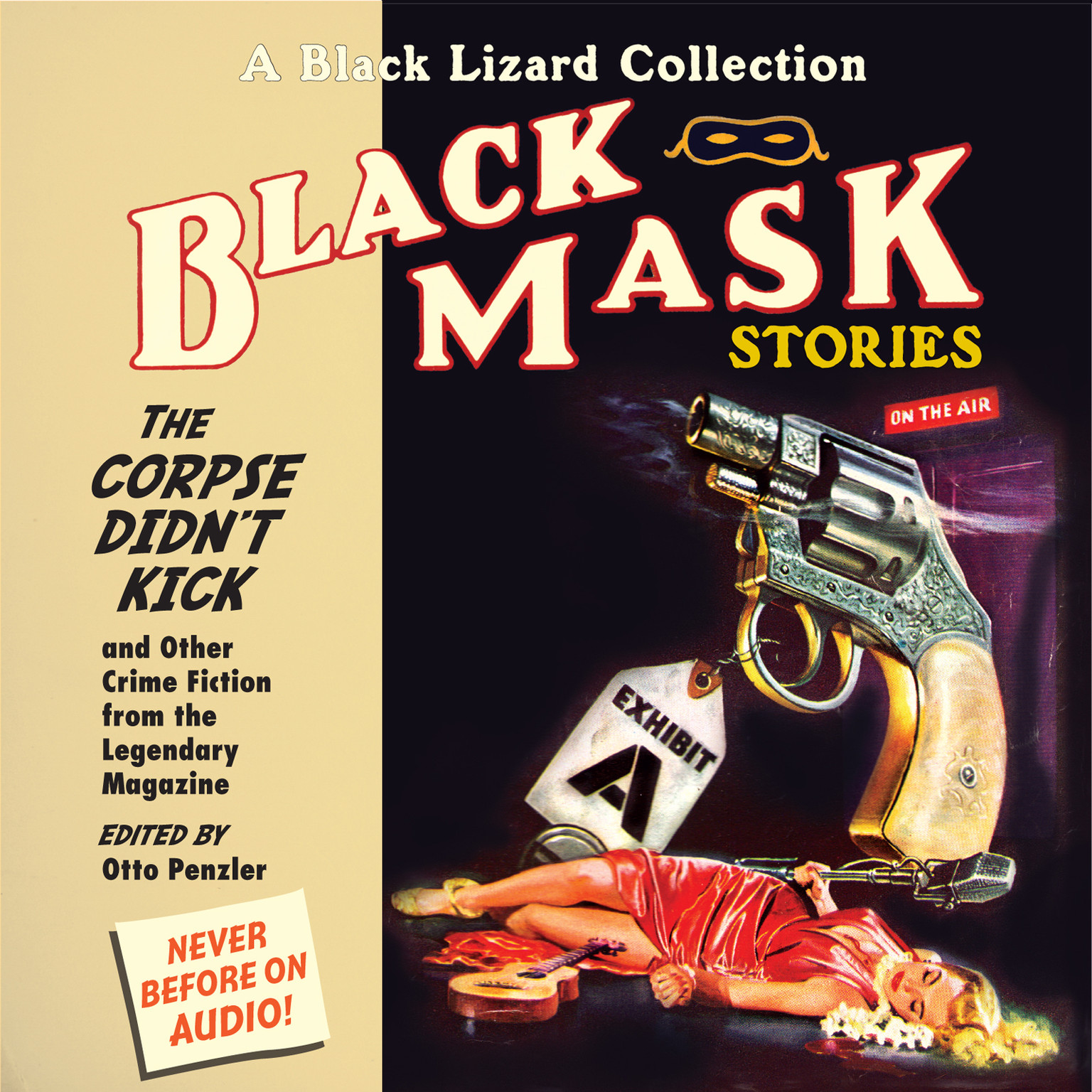 Printable Black Mask 9: The Corpse Didn't Kick: And Other Crime Fiction from the Legendary Magazine Audiobook Cover Art