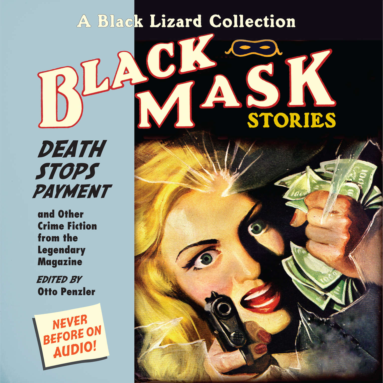 Printable Black Mask 10: Death Stops Payment: And Other Crime Fiction from the Legendary Magazine Audiobook Cover Art