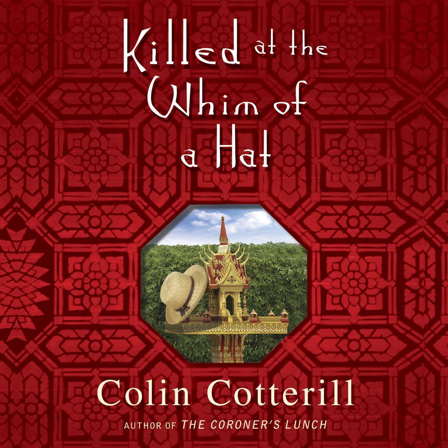 Printable Killed at the Whim of a Hat Audiobook Cover Art