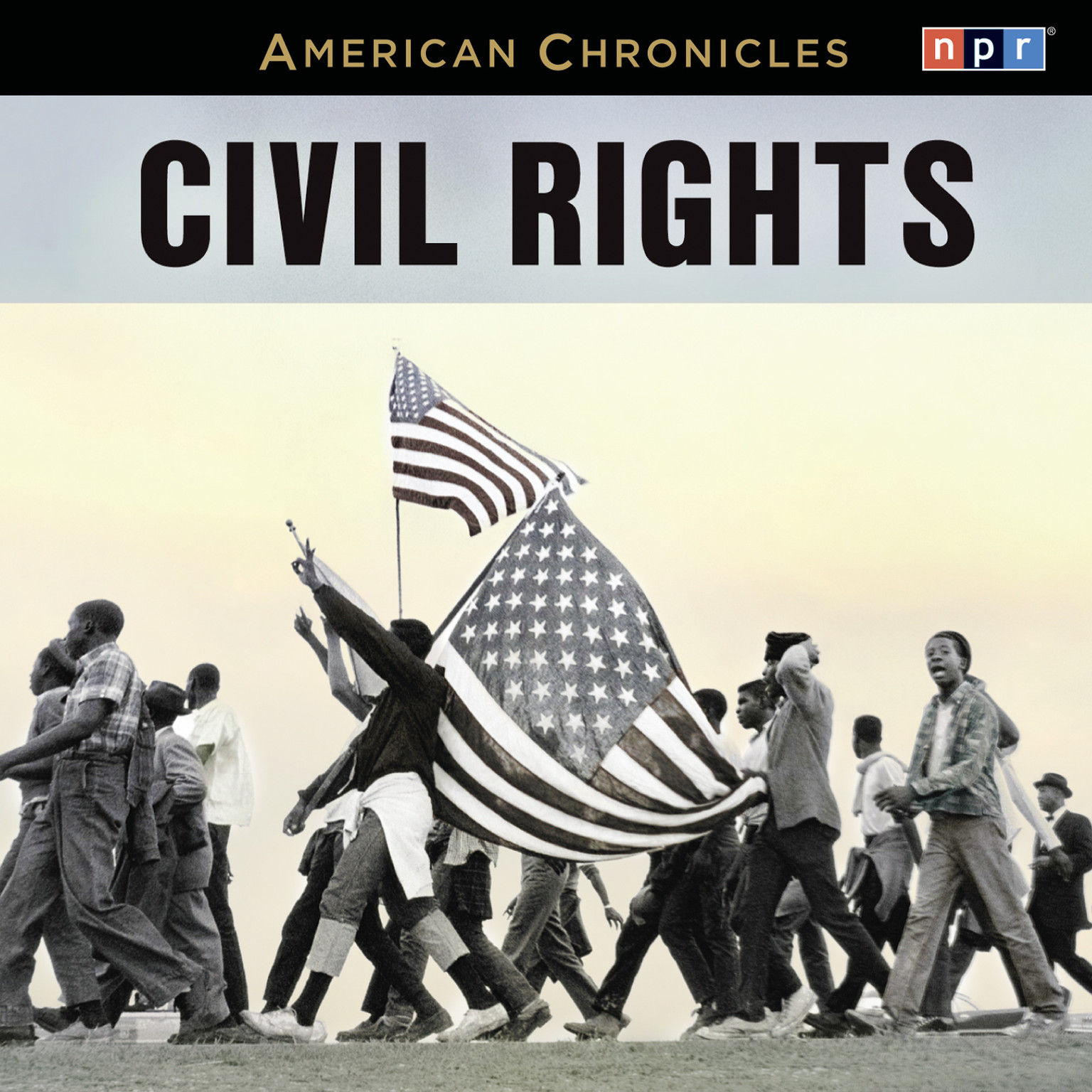 Printable NPR American Chronicles: Civil Rights Audiobook Cover Art