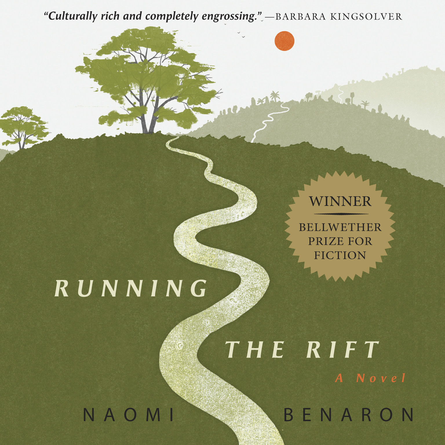 Printable Running the Rift Audiobook Cover Art