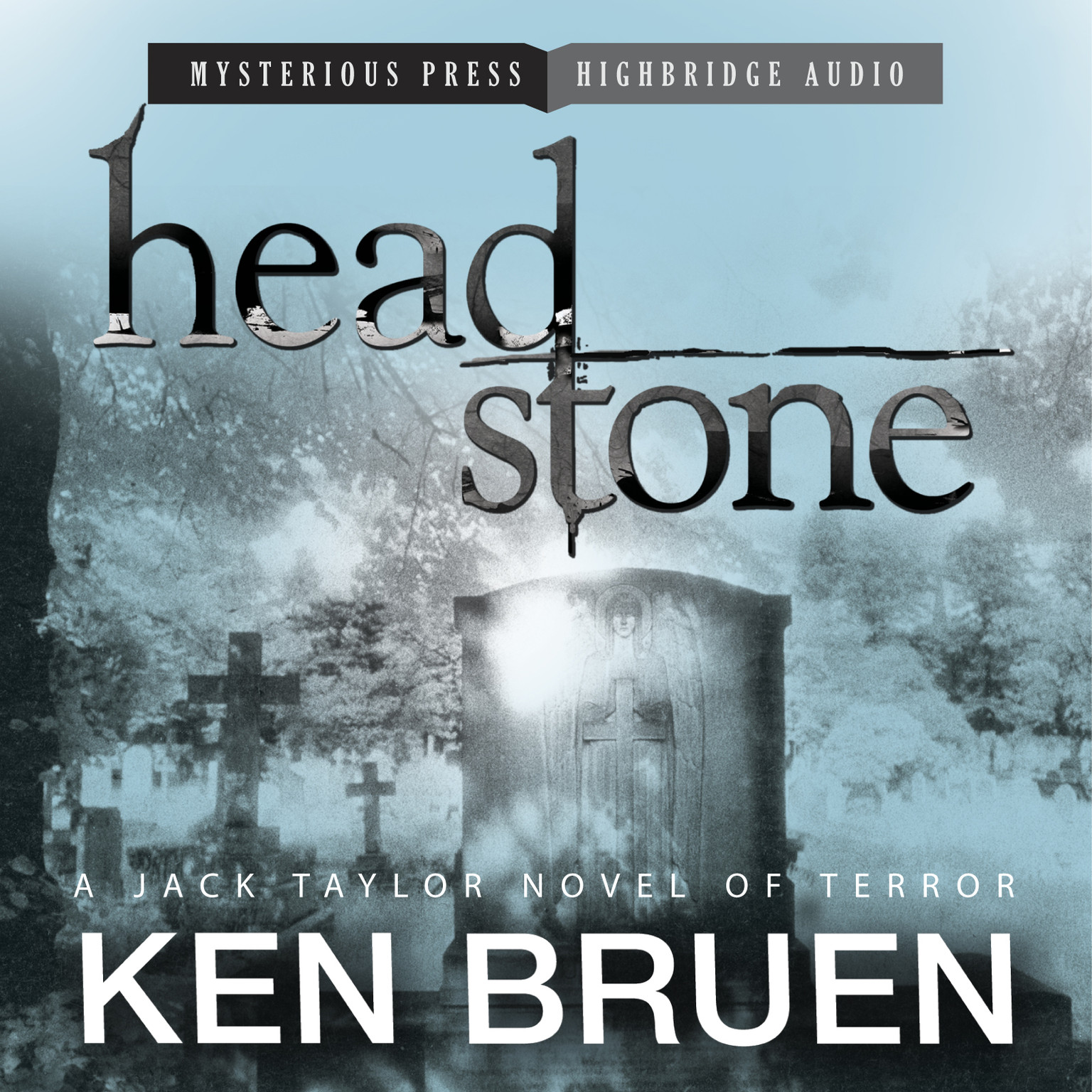 Printable Headstone Audiobook Cover Art
