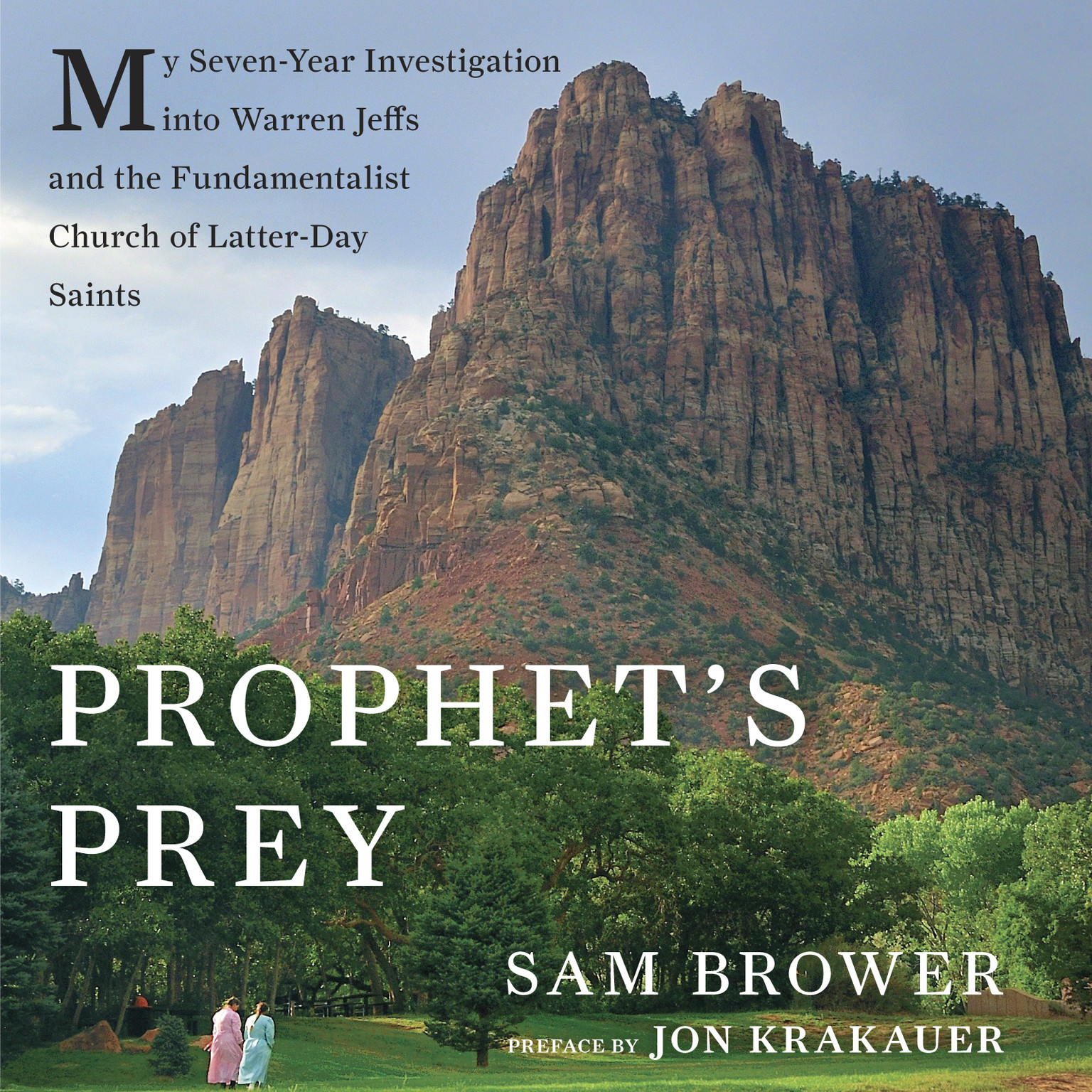 Printable Prophet's Prey: My Seven-Year Investigation into Warren Jeffs and the Fundamentalist Church of Latter-Day Saints Audiobook Cover Art