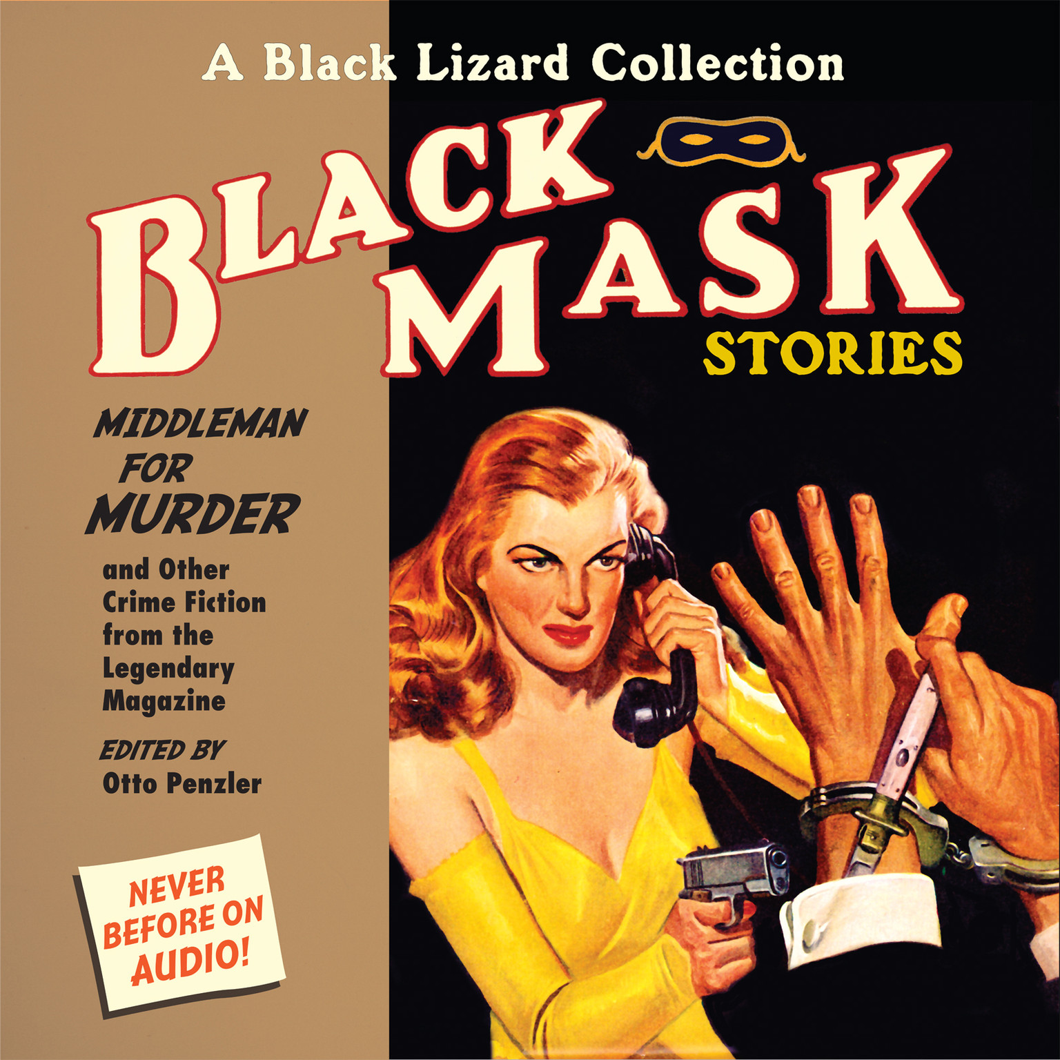 Printable Black Mask 11: Middleman for Murder: And Other Crime Fiction from the Legendary Magazine Audiobook Cover Art
