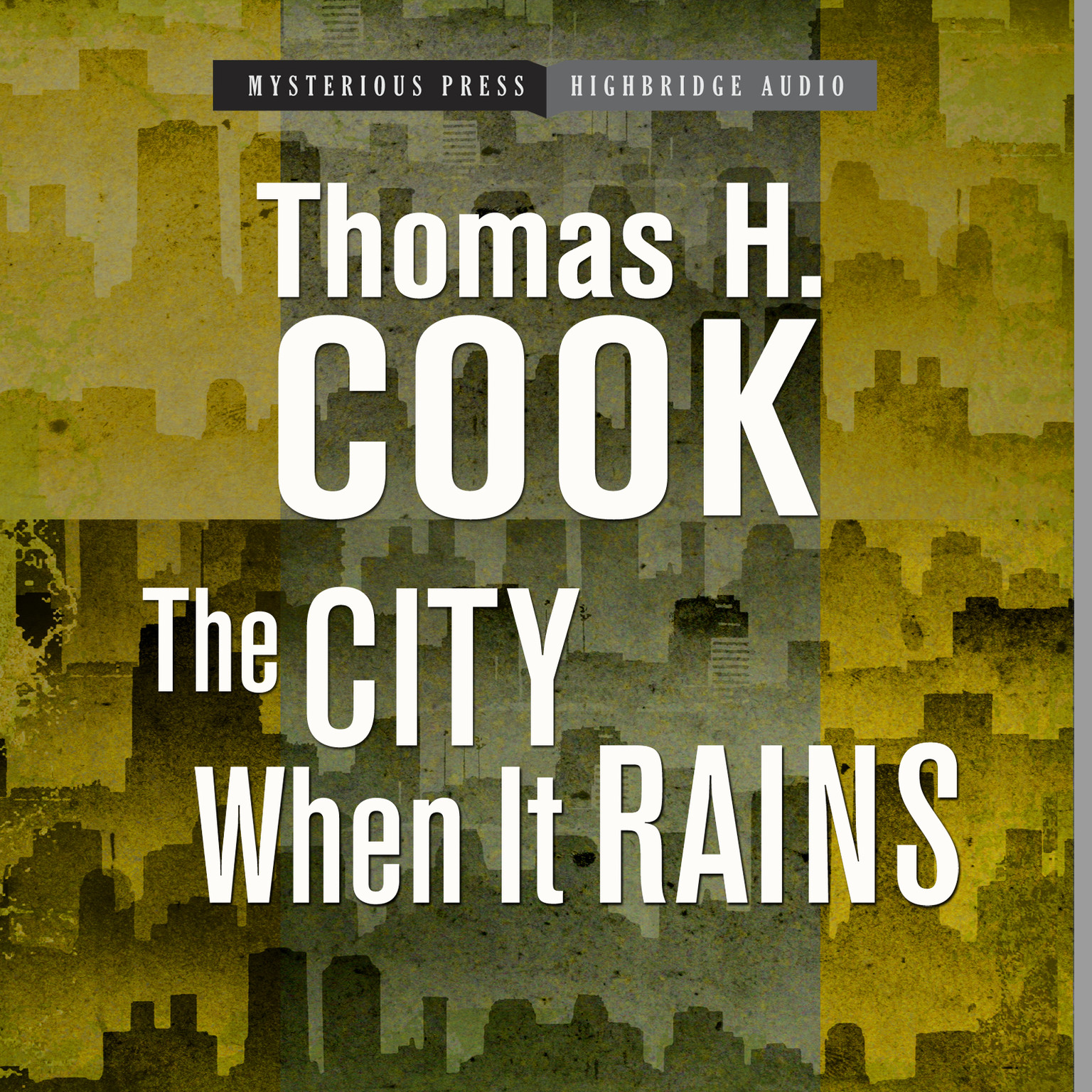 Printable The City When It Rains Audiobook Cover Art