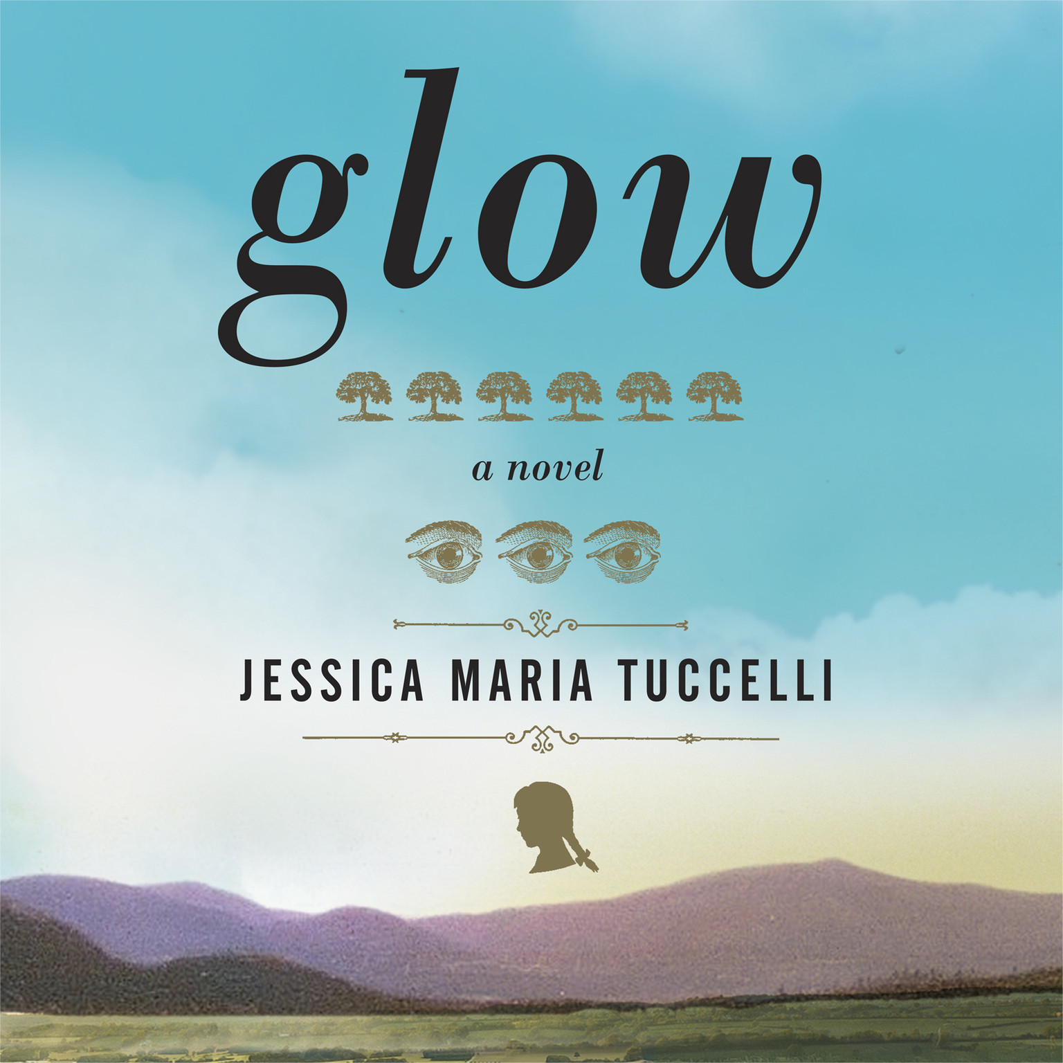 Printable Glow Audiobook Cover Art