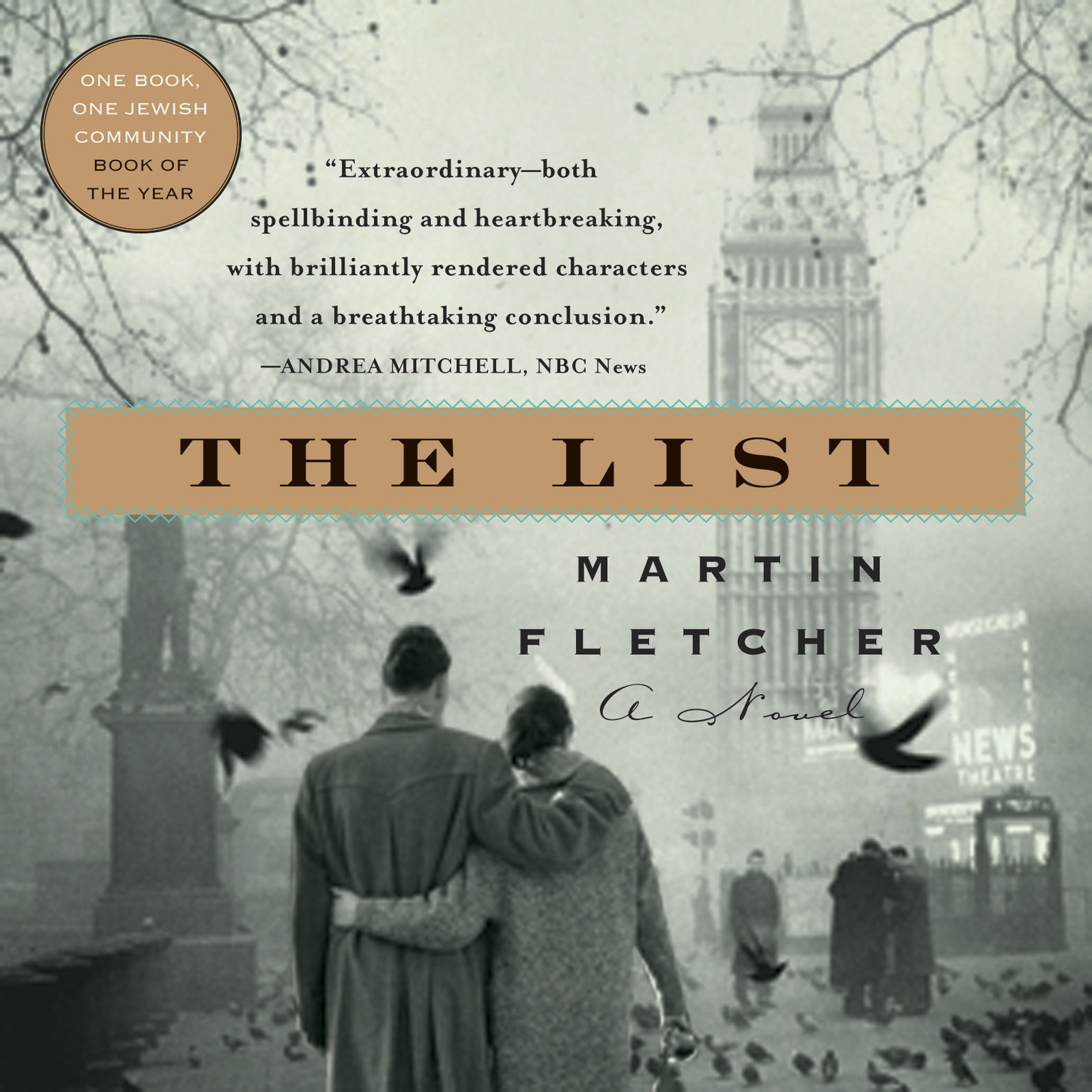 Printable The List Audiobook Cover Art