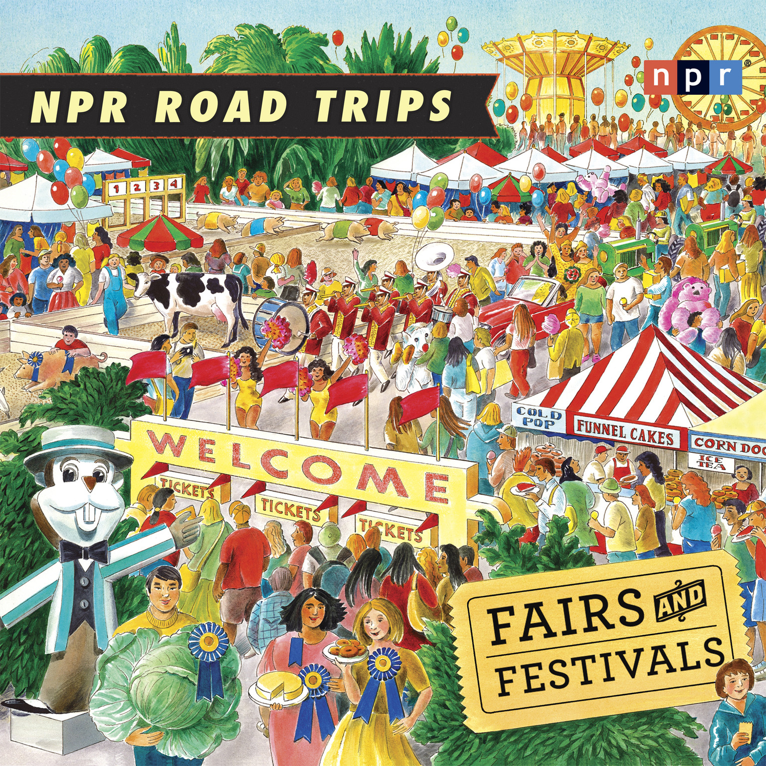 Printable Fairs and Festivals Audiobook Cover Art